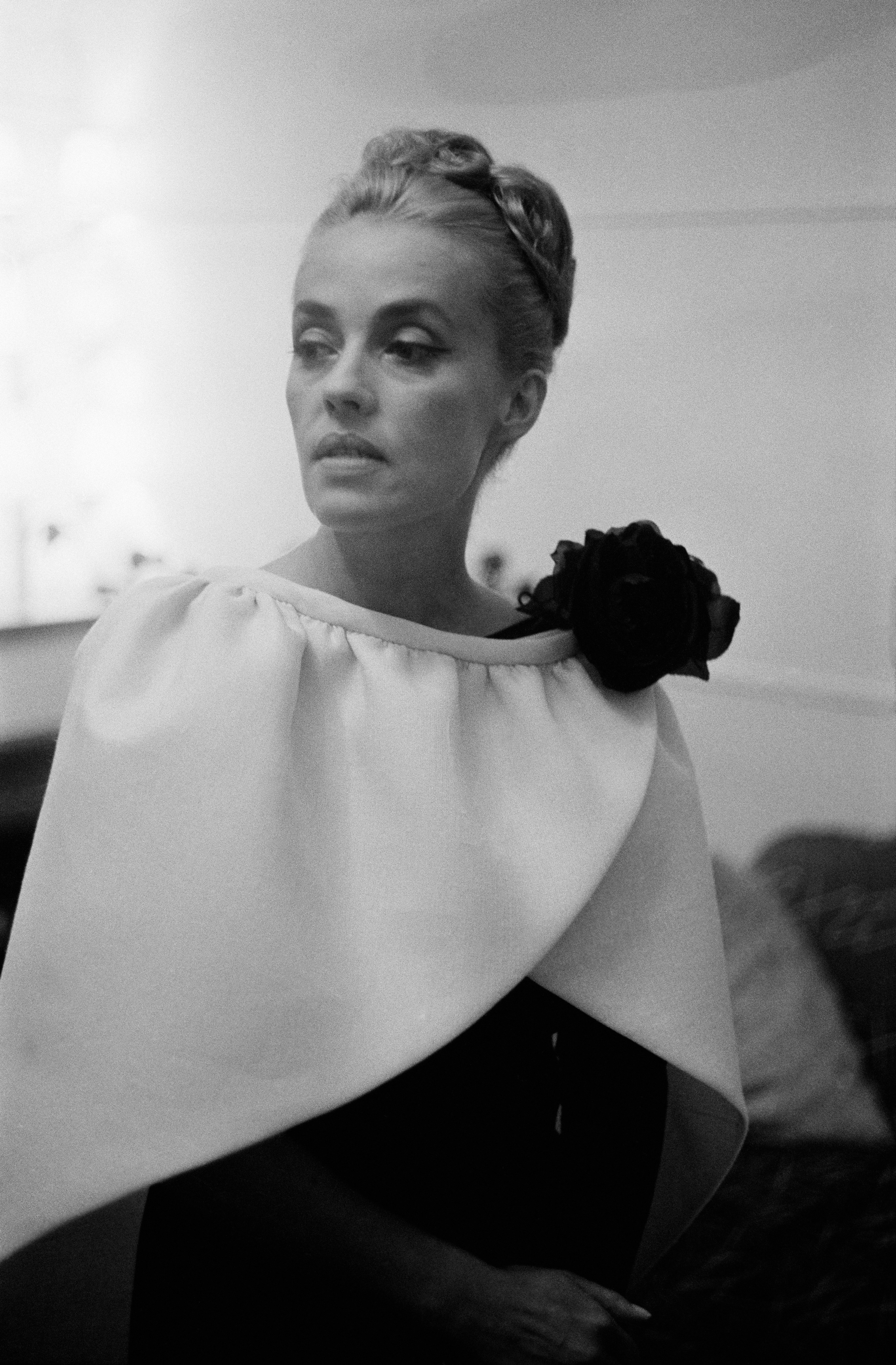 Jeanne Moreau, the original cool French girl