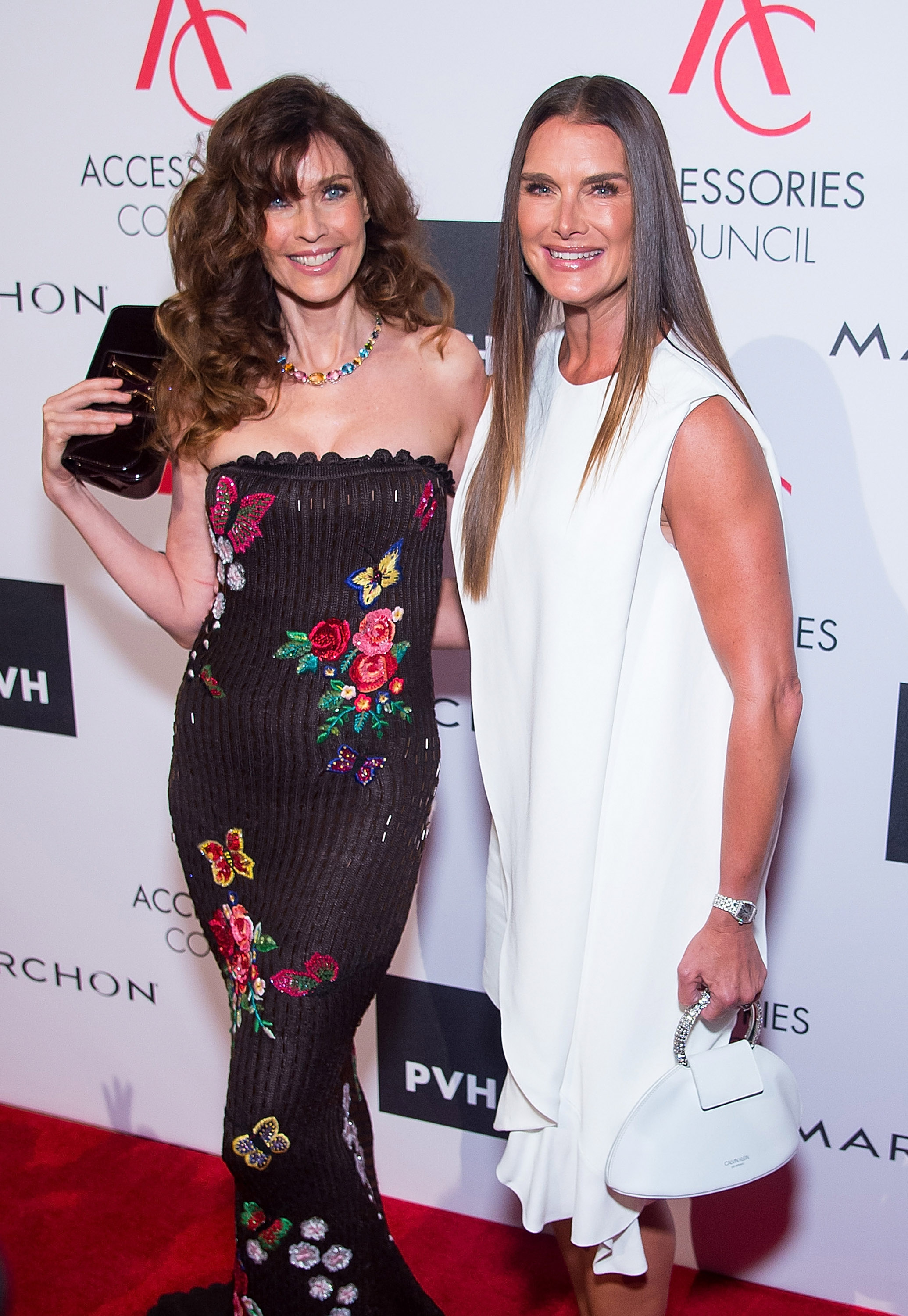 "Veteran supermodels Carol Alt and <a href=""http://style.nine.com.au/2017/06/20/12/22/brooke-shields-calvin-klein"" target=""_blank"">Brooke Shields</a> demonstrated that age is only a number when they reunited on the red carpet for the 2017 Accessories Council Excellence Awards in New York.<br> <br> Carol Alt, 56, has appeared on more than 500 magazine covers including <em>Vogue </em>and <em>Elle </em>and was the face of Diet Pepsi, Cover Girl and Givenchy at the height of her career.<br> <br> Before starring in <em>Blue Lagoon</em> and <em>Suddenly Susan</em>, Shields, 52, was a model sensation for Calvin Klein, appearing on the red carpet in a white dress from the label recently revitalised by Raf Simons. <br> <br> The dynamic duo were on hand for the premier event for US accessories designers.<br> <br> Joseph Altuzarra was honoured with the Designer of the Year Award, Monica Rich Kosann took out the Trailblazer Award, Eva Longoria in Georges Chakra won the Style Ambassador Award and Kendra Scott received the Breakthrough Award. <br> <br> See the top red carpet looks here.<br> <br>"