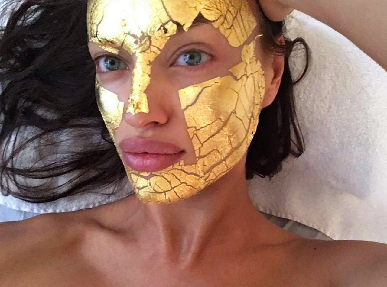 Gold has a unique hold on the beauty world.<br /> <br /> It was allegedly used by Cleopatra on her skin in ancient times and, more recently, Victoria's Secret angels like Irina Shayk swear by 24-karat gold facials to give them an angelic glow.<br /> <br /> Brandon Maxwell, Balmain and Dolce & Gabbana sent models down the catwalk with a golden glow this year and supermodel Cara Delevingne has ruled the red carpet with hairstyles with a metallic edge.<br /> <br /> Give your beauty bag a gold star with ten of our favourite gold beauty products.