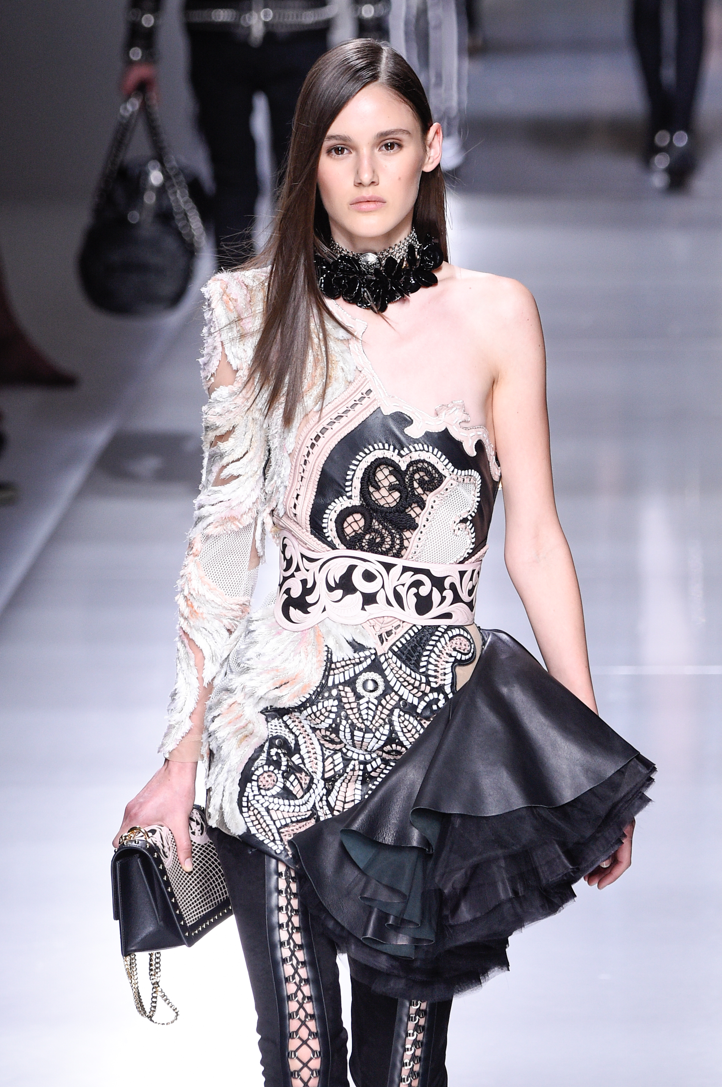 "<p>In a move to overshadow last week's spectacular season launch at <a href=""http://style.nine.com.au/2017/08/10/07/19/david-jones-spring-summer-2017"" target=""_blank"" draggable=""false"">David Jones</a> featuring Shanina Shaik, Bridget Malcolm, Jess Gomes and Jesinta Franklin, department store rival <a href=""https://www.myer.com.au/"" target=""_blank"">Myer</a> has cast rising star <a href=""http://style.nine.com.au/2017/08/15/12/32/forever-new-aleyna-fitzgerald"" target=""_blank"" draggable=""false"">AleynaFitzGerald</a> in tomorrow's runway reveal of the latest collections.<br /> <br /> Fresh from walking the runway for Balmain and Dior in Paris and promoting high street store Forever New, the 17-year-old will walk alongside Jennifer Hawkins, former Victoria's Secret runway star Elyse Taylor and Chantal Monaghan.<br /> <br /> ""For a model like Aleyna this is a special moment,"" says Doll Wright from Pricilla's Model Management. Wright helped the launch the career of in-demand Australian Julia Nobis.<br /> <br /> ""After winning Australia's Next Top Model Aleyna went straight to Paris,"" Wright says. ""While some of her friends and family won't know what it means to work for Balmain, they do know Myer.""<br /> <br /> Aleyna will take part in a showcase of Australian designers including Alex Perry, Toni Maticevski, Yeojin Bae, Acler, Anna Quan and We Are Kindred.<br /> <br /> In a new format for the department store the exclusive event will be held at a private residence in South Coogee before an evening celebration for the Insta-set.</p> <p><em>Image: Aleyna Fitzgerald walking for Balmain in Paris in June.<br /> </em> <br /> <br /> <br /> </p>"
