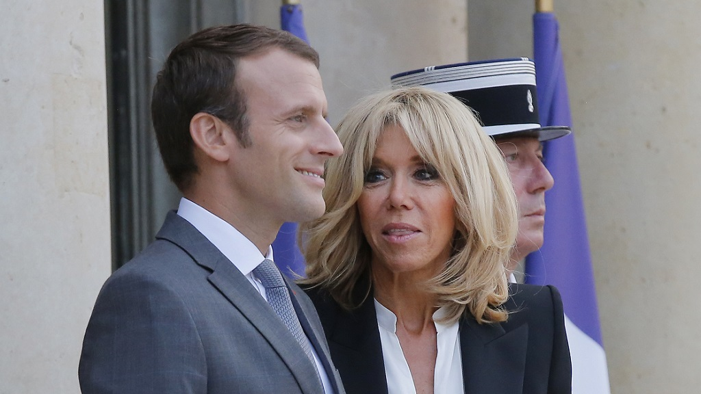 Brigitte Macron addresses controversy around her relationship