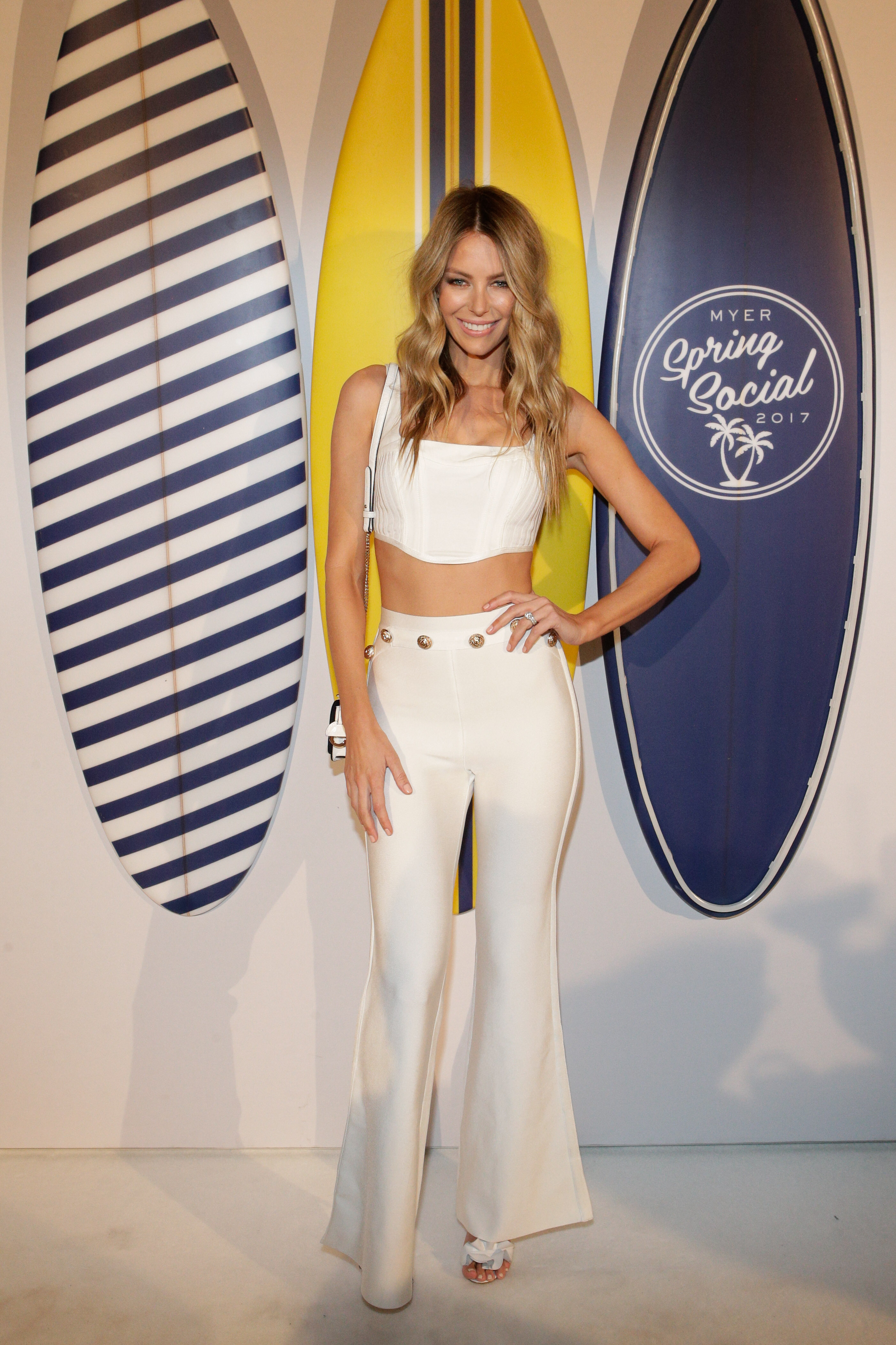 "Following an exclusive <a href=""http://style.nine.com.au/2017/08/17/16/29/gallery"" target=""_blank"">runway event</a> at a private residence in South Coogee with Myer ambassador Jennifer Hawkins and models Aleyna FitzGerald and Elyse Taylor in Maticevski, Alex Perry and Morrison, the department store celebrated with a beach party.<br /> <br /> Hawkins, Kris Smith and Jodi Anasta were joined by Instagram operators Nadia Bartel, Elyse Knowles and Natalie Roser for a DJ event at Bronte's surf life-saving club.<br /> <br /> Peking Duck set the soundtrack for summer beach vibes but the department store further confused the dress code when it comes to dressing for sandy nights.<br /> <br /> Anasta was at sea in Bronx and Banco flamenco ruffles, Knowles went for retro pin-up in Asilio, while Taylor opted for urban black in sass & bide.<br /> <br /> As usual it was up to Hawkins to lead the way, showcasing her taut midriff in a form-fitting House of CB ensemble.<br /> <br /> See the rest of the guest list here dressed for fancy dinners, sexy date nights and Netflix & Chill moments, all at the after-party."