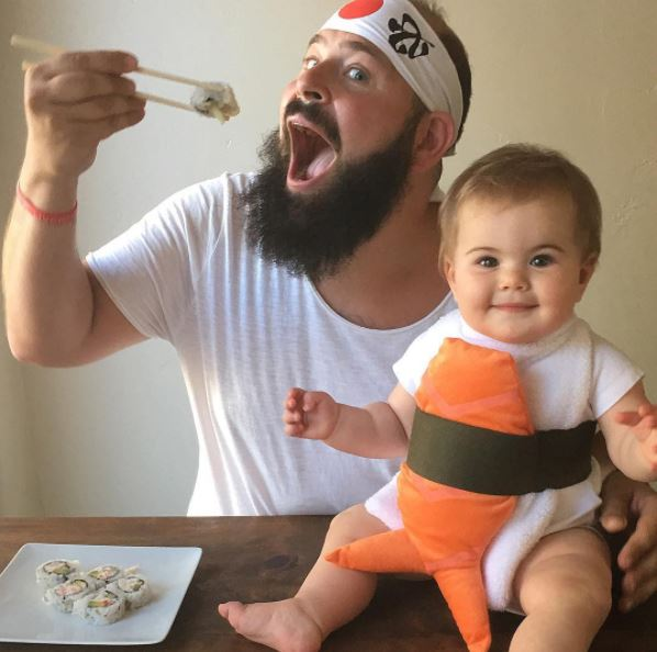 <p>Zoe Tegan Solomon is a social media star in the making. You know that already though because this adorable little babe is everywhere.</p> <p>She has fans all over the world and nobody loves her more than we do here at 9Honey. Well, probably her parents but otherwise .... </p> <p> Zoe and her dadSholom Ber Solomonhave taken the internet by storm with their matching daddy-daughter photos which star the two in various guises, including this laugh-out-loud snap. </p> <p>We love this dad and babe so much that this is the third time we've shared their snaps because frankly, we just can't get enough and we fancy you'll feel the same.</p> <p> Click through for more snort-inducing images of a sometimes smiling, occasionally-stunned Zoe posing with her loving papa.<br /> <br /> </p>
