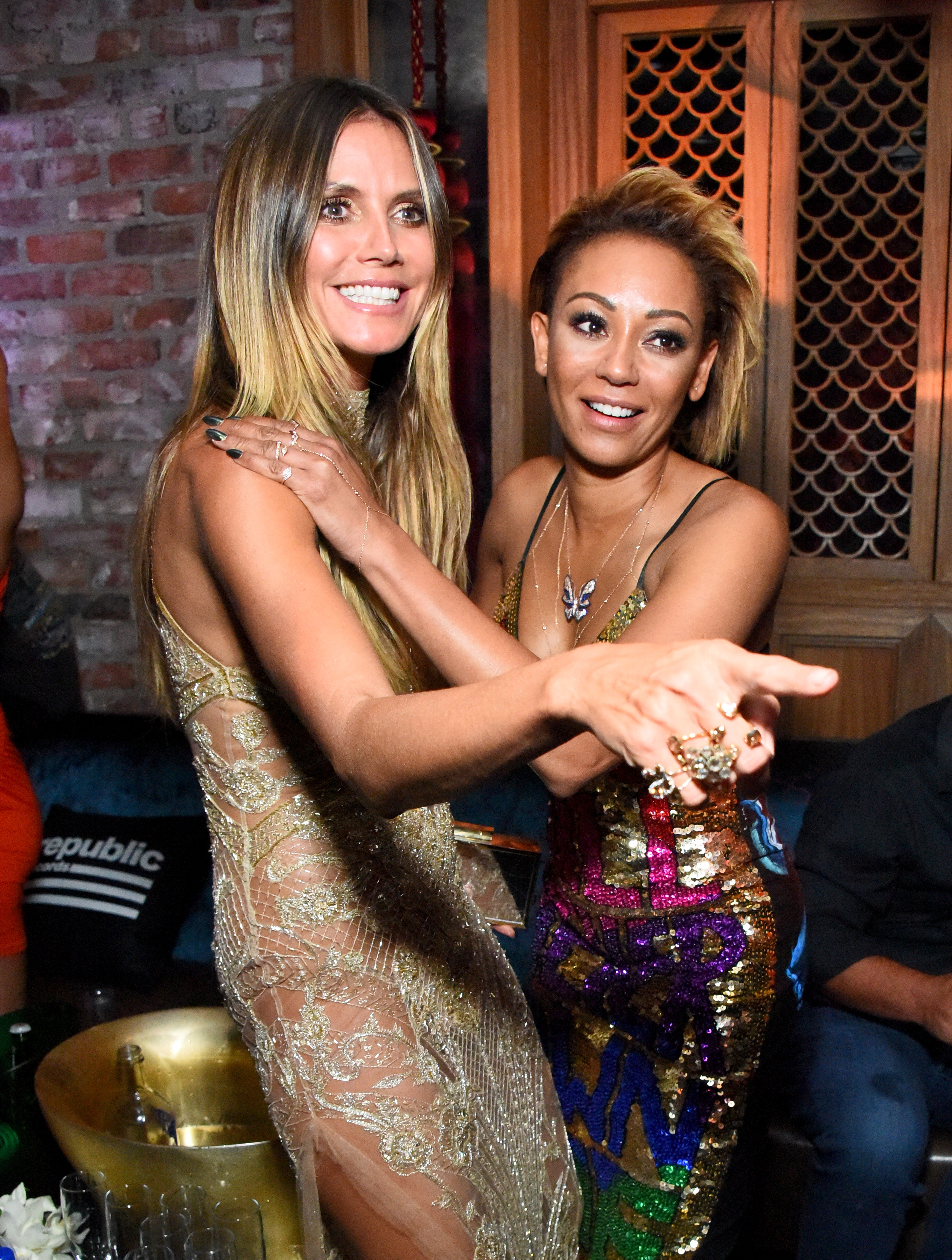 """<p>While Heidi Klum remained stitched into her Dundas barely-there gown and Mel B wore her Di$count Universe dress from the Australian label, most guests from the <a href=""""https://style.nine.com.au/2017/08/28/08/50/vma-red-carpet-2017/8"""" target=""""_blank"""">MTV VMAs</a> swapped outfits for a second trip down the red carpet at the after parties.</p> <p>Hollywood stylists doubled down on their pay packets with emerging trend-setter Millie Bobby Brown trading her Rodarte for Christopher Kane and Hailee Steinfeld swapping her mini-Versace for a mini-David Koma dress.</p> <p>Mexican singer Eiza Gonzalez joined Mel B in raiding the Australian fashion racks, picking out a beautiful bronze suit with Nina Dobrez also suiting up in scarlet Armani.</p> <p>See what the stars where to party in here.</p> <p></p>"""