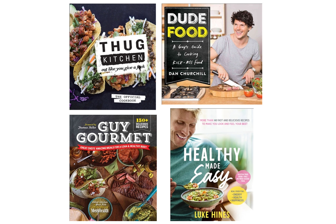 Healthy and simple cookbooks from Dymocks, $32.99 to $39.99