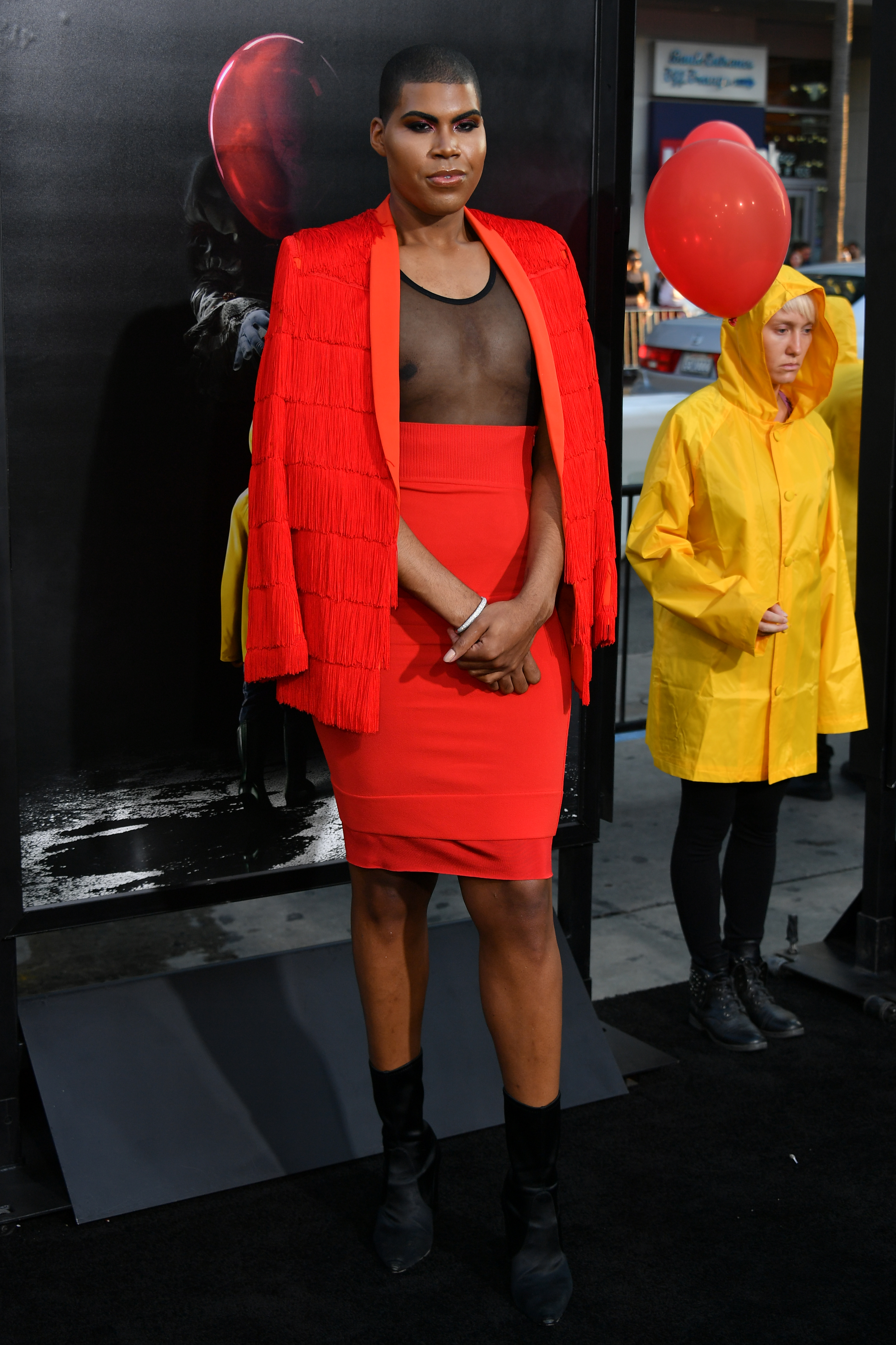 EJ Johnson is the new pin-up for gender fluidity