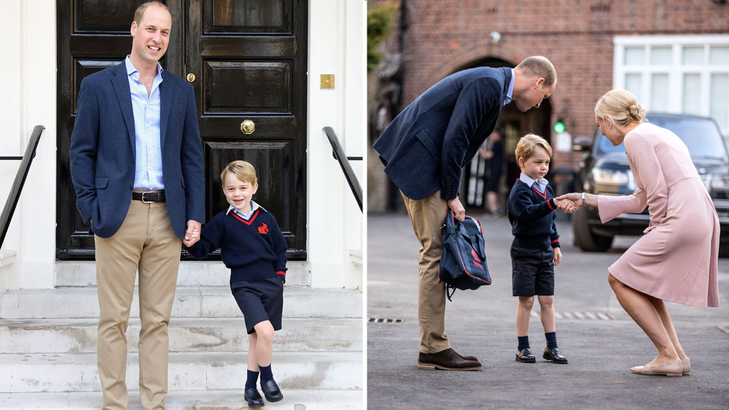 We now know the name Prince George is using for school