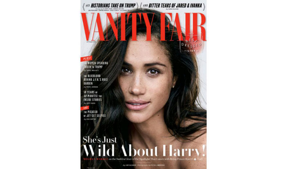 Meghan Markle's Vanity Fair interview criticised