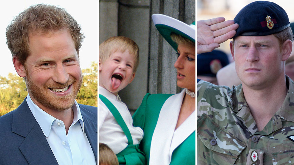 Prince Harry's life in pictures