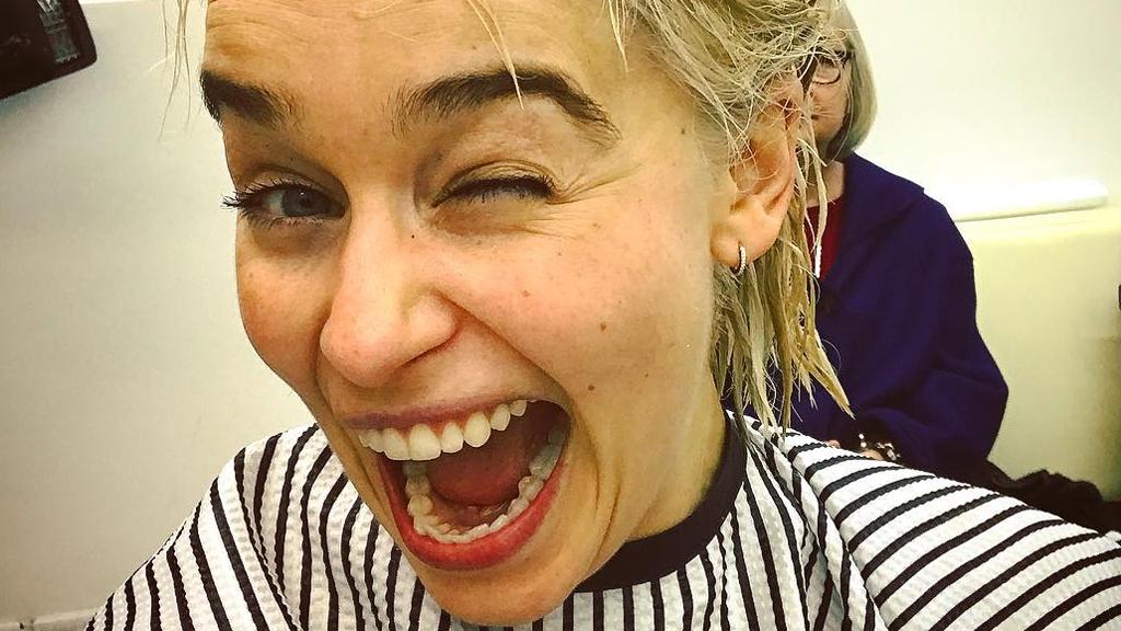 Emilia Clarke is a real-life Khaleesi