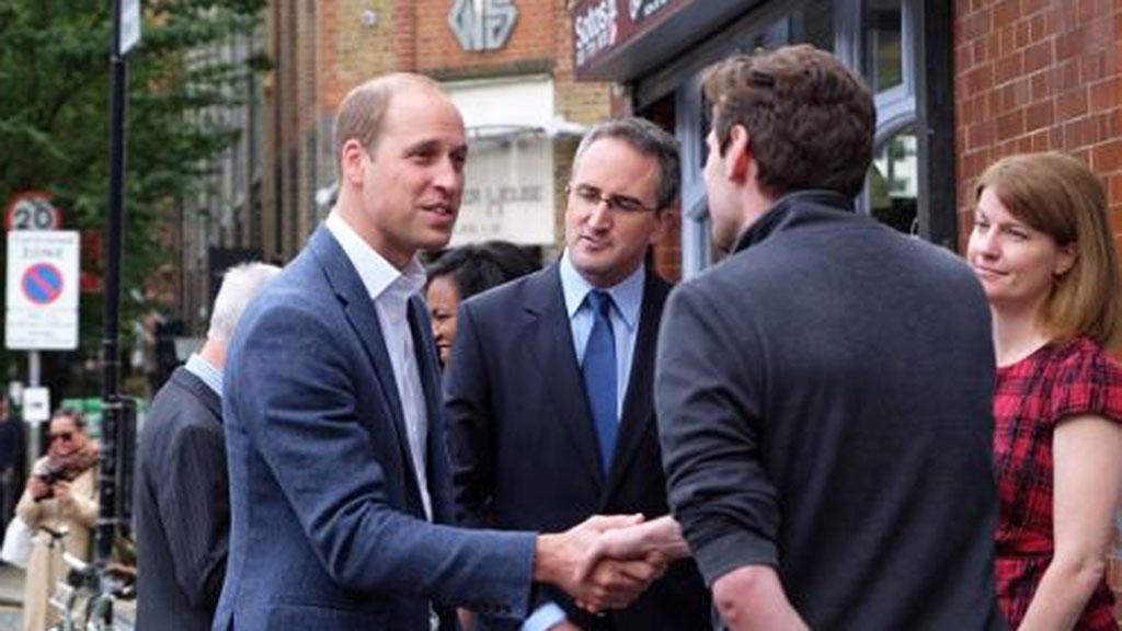 Prince William, September 2017