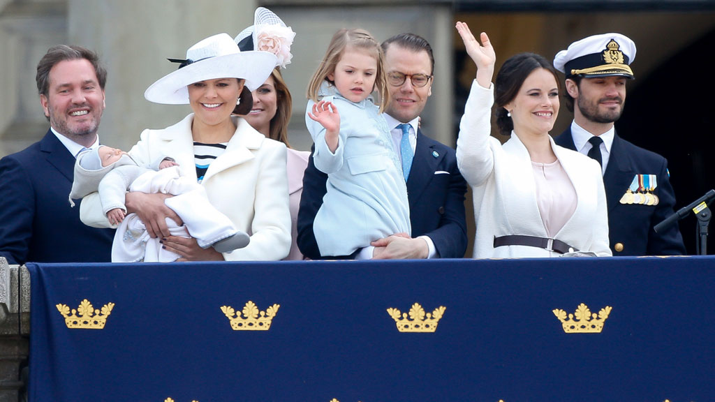 "The children of the Swedish royal family<span style=""white-space:pre;"">	</span>"