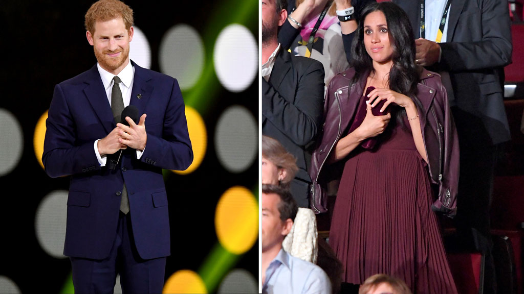 Prince Harry and Meghan Markle, September 23 2017