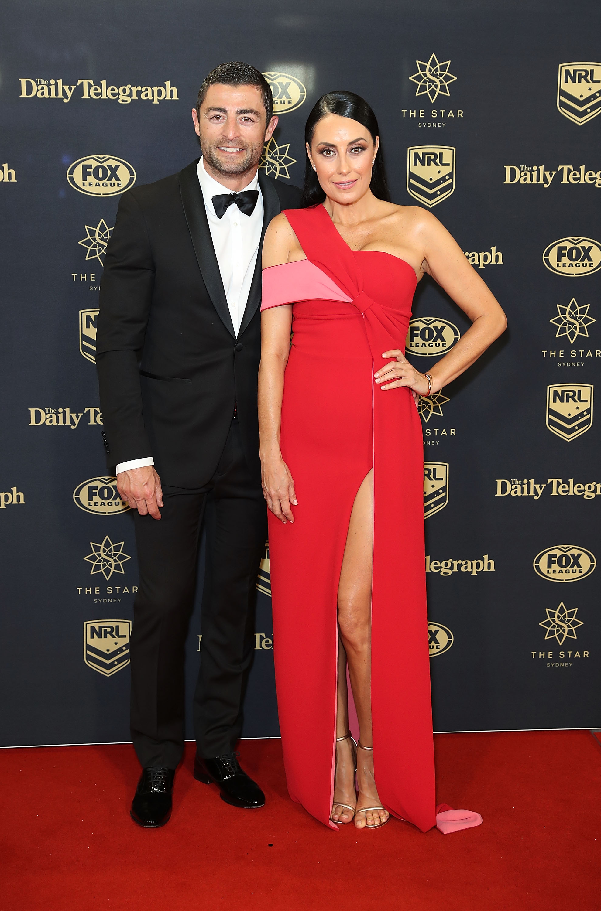 <p>The Brownlow Awards have been and gone and now it's the Dally Ms turn to light up the night.</p> <p>In case you're not the sporty type, a little background ... Just like the Brownlow is the Australian Football League award for best and fairest player, the Dally M is designed to honour the most talented sportsman of the Australian Rugby League (or something like that anyway).</p> <p>The itty bitty details don't concern us all that much because both nights are really more about the wives and partners (at least for us).</p> <p>You see, it's the WAGs that bring all the fabulousness to what can turn into a significant night of style.<br> And, as you'll see from the stunning images here in our exclusive red carpet album, 2017 might well be the most fashionable night yet.</p> <p>Take it away former Roosters captain Anthony Minichiello and wife Terry Biviano in custom-made Mariam Seddiq.</p> <p>To see more of the undeniable glitz and glamour click through to see all the red carpet highlights from the 2017 Dally M Awards.</p>