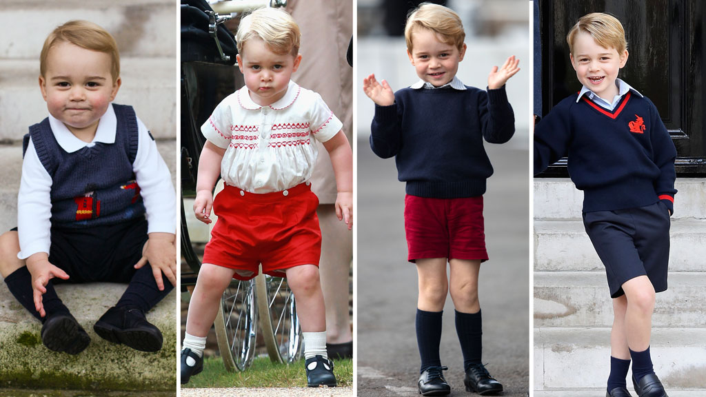 Princess Charlotte is the boss of Prince George, according to The Queen