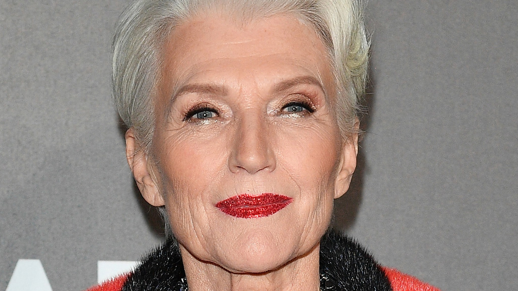 Maye Musk is the new face of Covergirl. Image: Getty