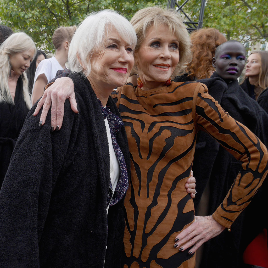 <p>Closing down theChamps-Élysées in Paris is almost unheard of, but global beauty brandL'Oréal managed to do just that for their Le Défilé catwalk show.</p> <p>The most talked-about event of Paris Fashion Week saw models of all types and ages take to the catwalk in honour of the beauty brand. Beauty director Val Garland created 70 different make-up looks for the show, which featured designs from 18 established and emerging fashion houses.</p> And the reason the show became an instant hit on social media was down to the variety of models walking. From screen goddesses Dame Helen and Jane Fonda to Instagram's biggest stars, click through to see why everyone is talking about L'Oreal...