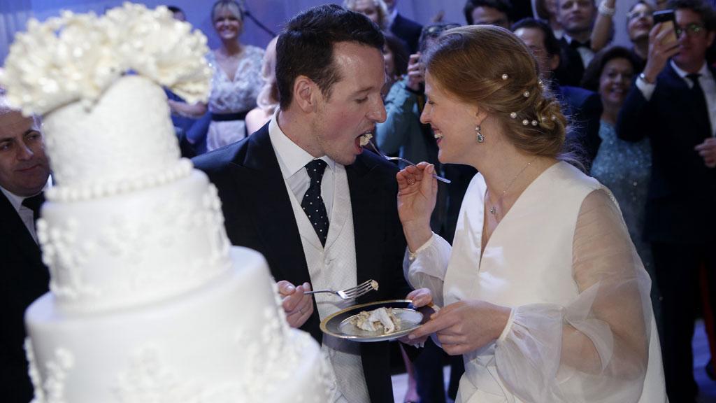 Prince Philip of Serbia and Danica Marinkovic wedding, October 2017