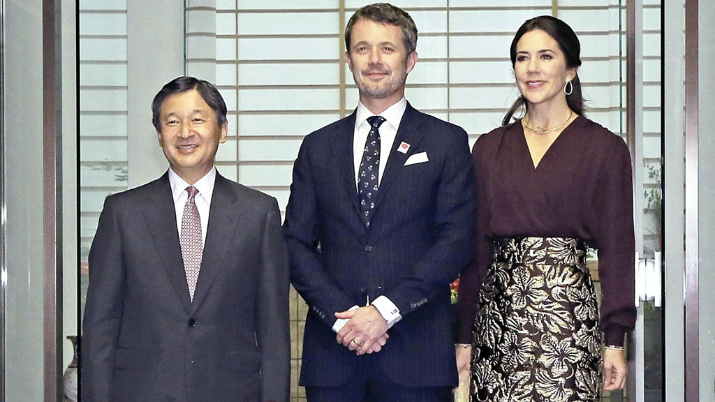 Princess Mary and Prince Frederick's tour of Japan ends, October 2017