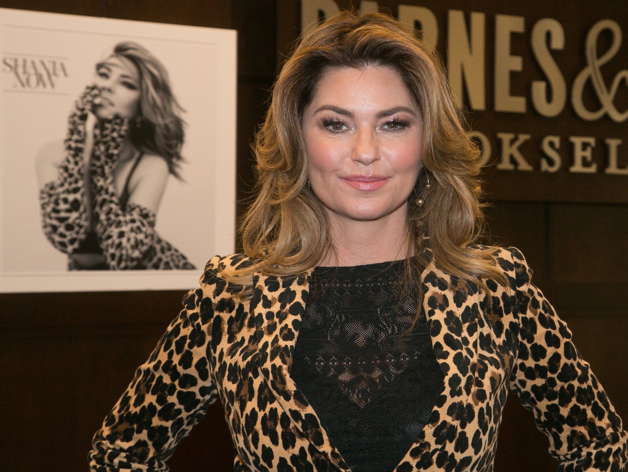 <p>After a 15-year hiatus from the limelight singer Shania Twain has made a high-voltage return   with a hip new album and sleek new look.</p> <p>Proving that she still hasn't lost her touch for donning head-toe-toe leopard, the 52-year-old rocked a pantsuit decorated entirely with the print at the official signing of her new record 'Up' in Los Angeles last week.</p> <p>Twain paired her bold look with a voluminous blowout, pink lip and smokey eye, a new look for the Grammy-award winner who made crimped hair and frosted lipstick something of a signature beauty look back in the '90s.</p> <p>On the red-carpet Twain's hair and makeup moments have always been just as iconic as her songs, and we've rounded up 10 of the country music singer's best looks throughout the years to celebrate her return to the spotlight.</p> <p>Click through to see the beauty evolution of Shania Twain.</p>