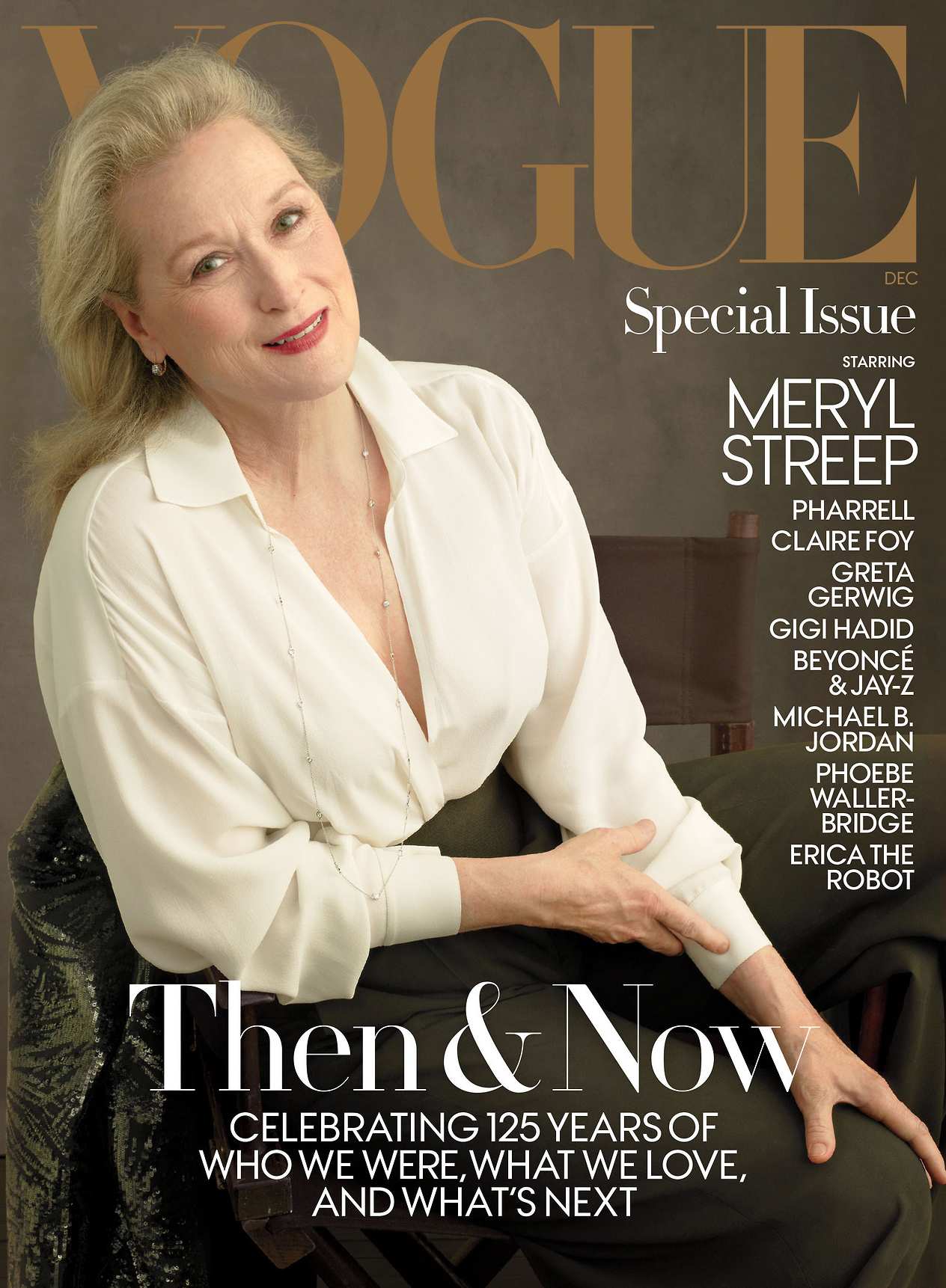 """<p>Meryl Streep has appeared on the cover of US <em><a href=""""https://www.vogue.com/article/meryl-streep-anna-wintour-interview-the-post-video"""" target=""""_blank"""" draggable=""""false"""">Vogue</a> </em>for the second time but it's her interview with Anna Wintour that is trending thanks to her comments on disgraced Hollywood producer Harvey Weinstein.</p> <p>Streep tells Wintour, the woman who inspired her character in <em><a href=""""https://style.nine.com.au/2016/06/27/09/40/streep-not-inspired-by-anna-wintour"""" target=""""_blank"""" draggable=""""false"""">The Devil Wears Prada</a></em>, that she has spoken with her three daughters Mamie Gummer, 34, Grace Gummer, 31, and Louisa Gummer, 26, about Weinstein's behaviour.</p> <p>""""Harvey Weinstein, that's all we talk about. It's horrible,"""" Streep <a href=""""https://www.vogue.com/article/meryl-streep-anna-wintour-interview-the-post-video"""" target=""""_blank"""" draggable=""""false"""">told Wintour</a>. """"We want them to be free, we want them to be proud, we want them to be female. You put them in danger by not informing them about the male gaze and how it works on young girls.""""</p> <p>Weinstein has been accused of sexual misconduct by more than 50 women includingCara Delevingne, Rose McGowan, Gwyneth Paltrow, andAngelina Jolie.</p> <p>The star of <em>The Iron Lady</em> and <em>Out of Africa</em> was photographed by Annie Liebovitz wearing Michael Kors to promote her latest film <em>The Post </em>for the December issue of US <em>Vogue.</em></p> <p>The last time Streep appeared on the cover of fashion's bible was in 2012.</p> <p>Take a look back at some of Streep's most stylish appearances.</p> <p></p> <p></p> <p></p> <p></p> <p></p>"""