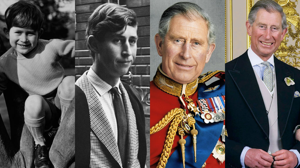 """Prince Charles: From current day to childhood<span style=""""white-space: pre;""""></span>"""