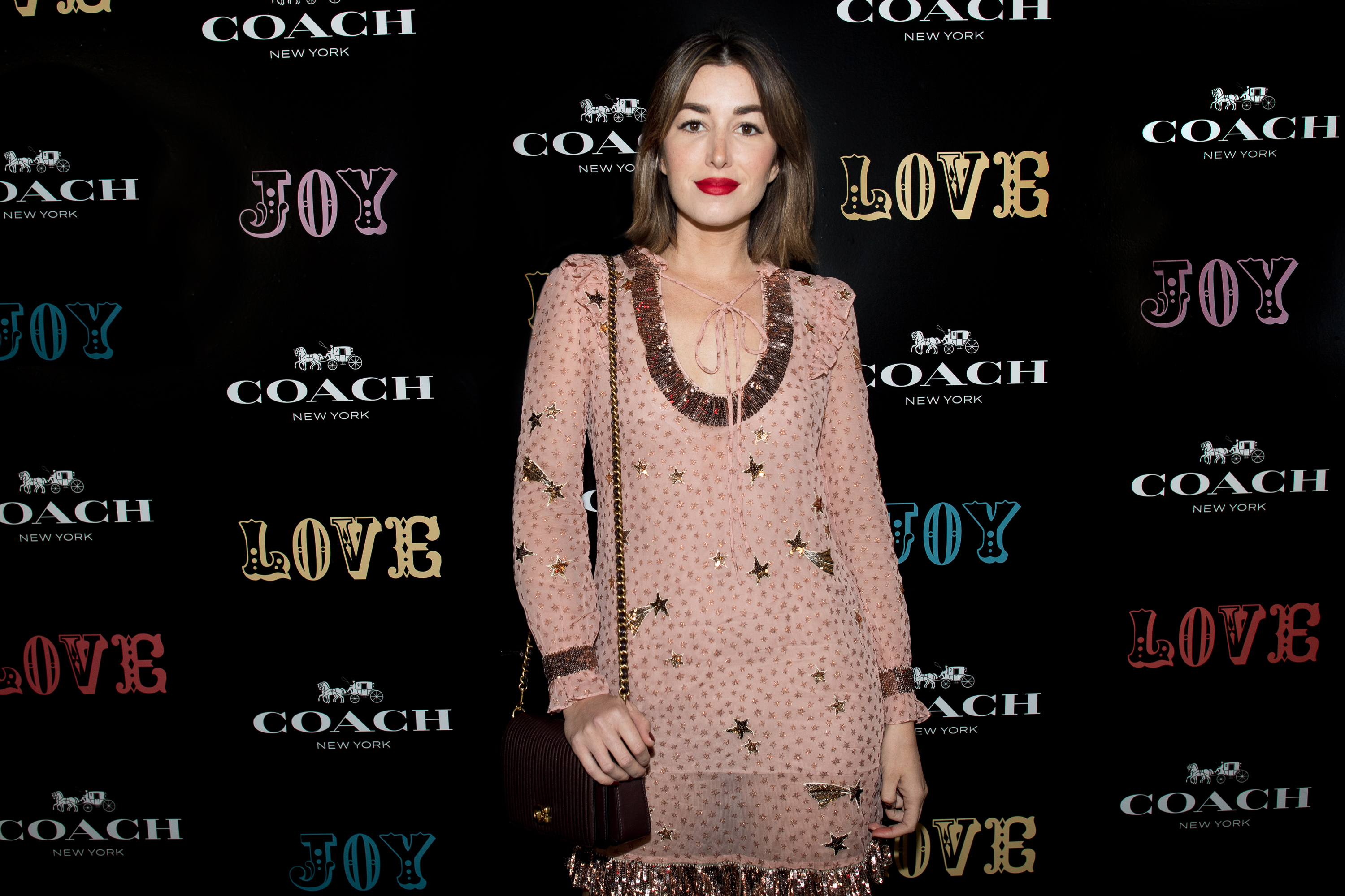 <p>Another week, another luxury store opening but Coach decided to step outside of the Sydney Westfield box to celebrate their latest boutique.</p> <p>To fit with the American label's recent image upgrade Coach called on every Instagram star worth their likes to trudge up the stairs of former rock haunt Kinsellas in Taylor Square.</p> <p>Squeezed into Stuart Vevers Western-influenced designs, the social set gravitated towards the photo walls to spread the word of the new store's arrivals, before moving onto the bowling ally and arcade games.</p> <p>Prepare for a bout of influencer influenza and click on.</p> <p>Carmen Hamilton at the Coach launch, Sydney.</p>