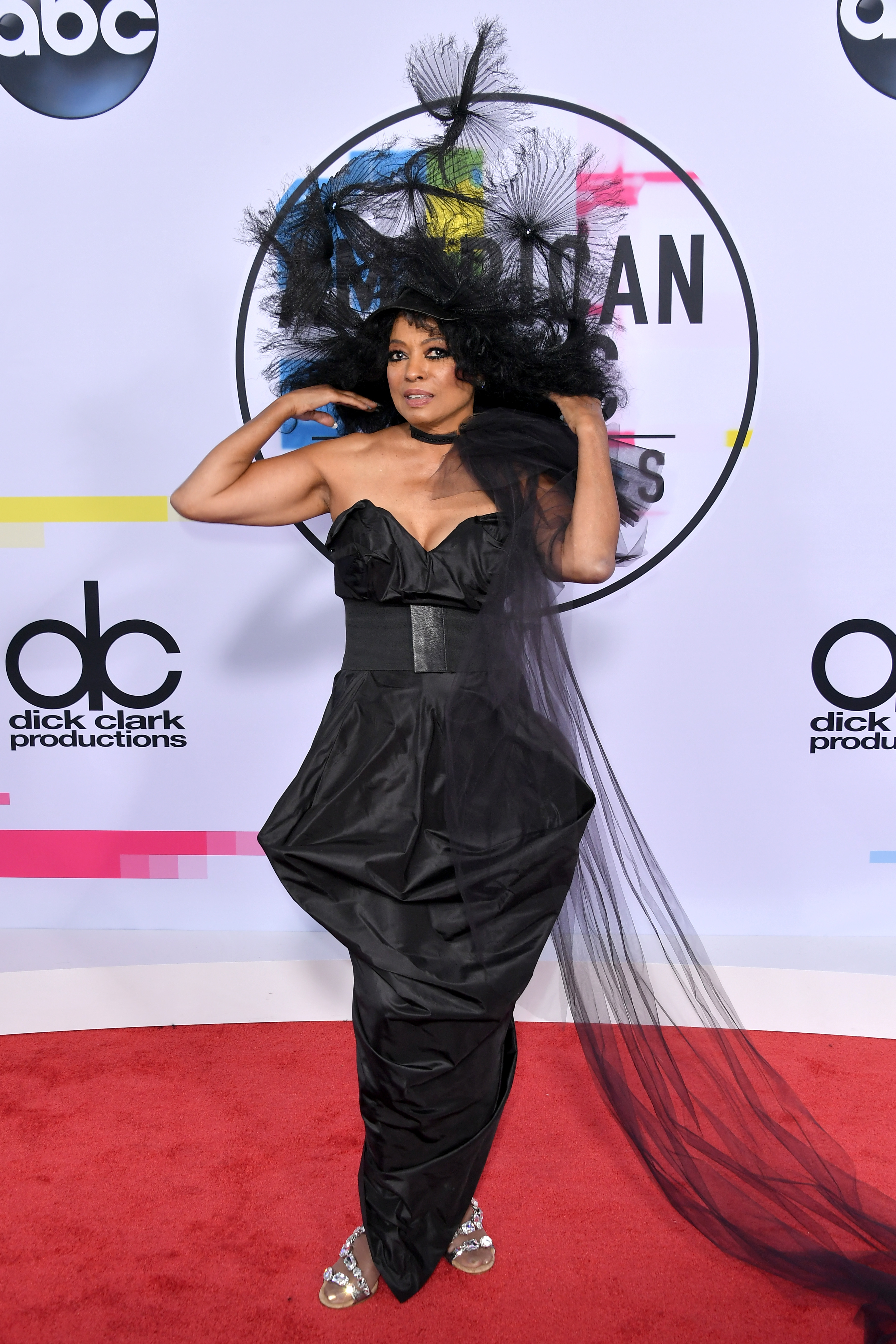<p>The American Music Awards are like Christmas for Hollywood stylists as pop stars and Insta-celebrities abandon all dress codes and wear whatever they want.</p> <p>Think Britney Spears and Justin Timberlake's infamous attempt at double denim in 2001 and Chrissy Teigen's skin-baring Yousef Akbar ensemble in 2016.</p> <p>But this year's attendees seem to be marching to the beat of a different sartorial drum.</p> <p>Legendary singer Diana Ross is the recipient of this year's Lifetime Achievement and chose to mark the occasion in a bizarre all-black ensemble complete with an over-sized fascinator. </p> <p>Despite looking like she is dressed for her own funeral, with an army of family members including singer Ashlee Simpson Ross and daughter Tracee Ellis Ross (who is also this year's AMAs host) serving as her best accessories, Ross's red carpet appearance may be the most memorable of the night.</p> <p>That said, there was a powerful, sleek all-leather look by a newly-blonde Selena Gomez that managed to catch our attention in the mix as well.</p> <p>Here are the most stylish, outrageous and intriguing ensembles on the red carpet at the 2017 American Music Awards.</p>