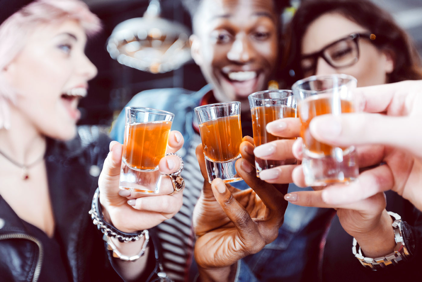 Hard alcohol could make you feel instantly sexier, according to science