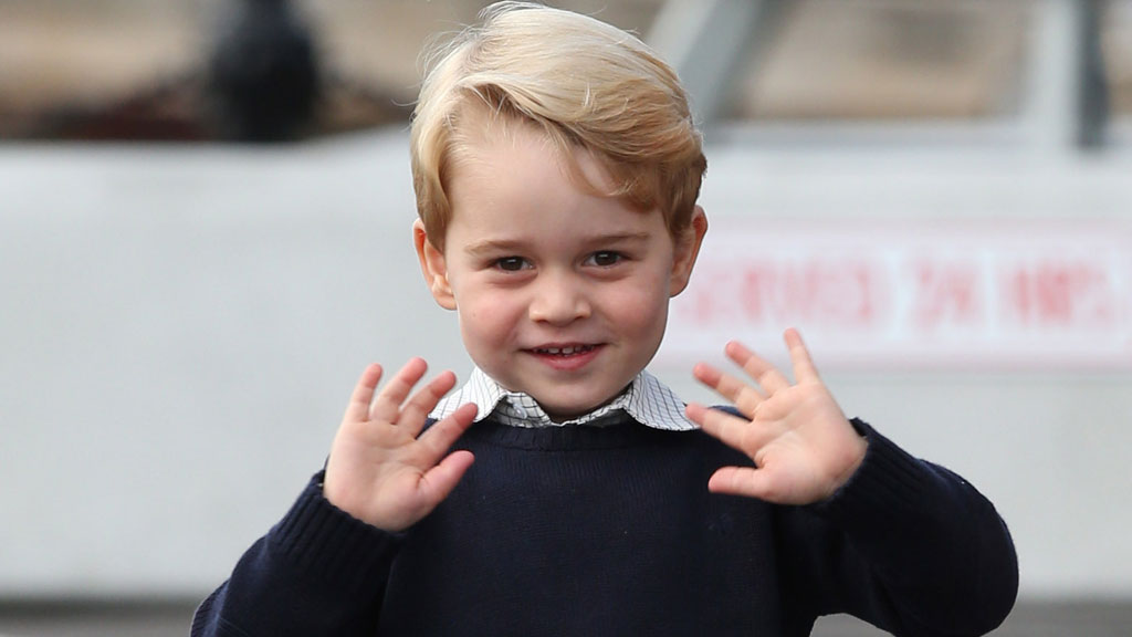 Prince George was a sheep in his school nativity