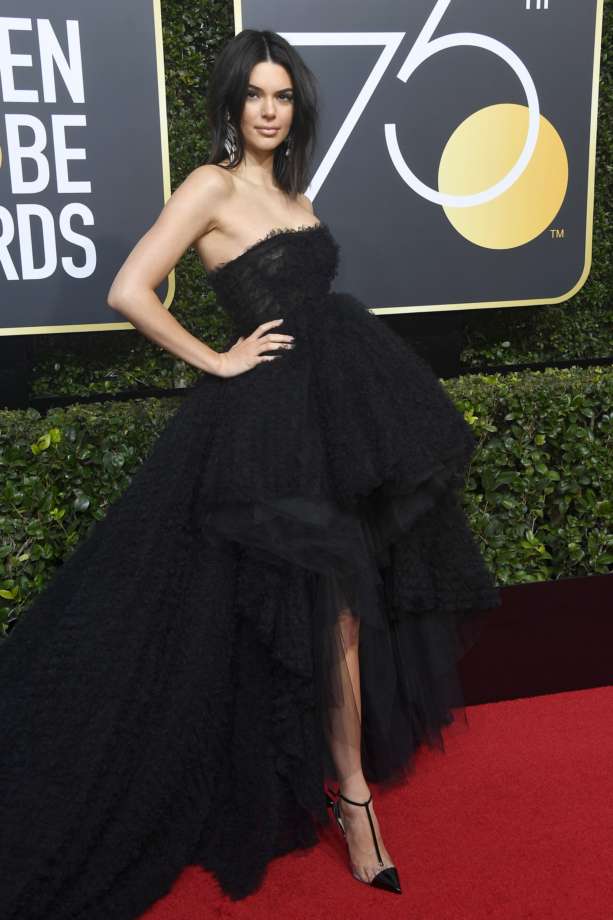 "<a href=""https://style.nine.com.au/2018/01/08/09/34/golden-globes-2018-red-carpet"" target=""_blank"" draggable=""false"">This year's Golden Globes</a> may have been an all-black affair, but that didn't stop the A-list from bringing their A-game when it came to the pursuit of the perfect dark outfit.<br /> <br /> Kendall Jenner frolicked in Giambattista Valli Haute Couture, Alicia Vikander made a splash in Louis Vuitton and actress Bianca Blanco stood out for all the wrong reasons.<br /> <br /> The Golden Globes weren't the only occasion this week that offered up unique sartorial offerings. <a href=""https://style.nine.com.au/2018/01/12/08/50/critics-choice-awards-2018-red-carpet"" target=""_blank"" draggable=""false"">The Critics Choice Awards </a>and Yolanda Hadid's reality show premiere also set the tone for attire that will be hard to forget. <br /> <br /> In no particular order, here are Honey Style's most talked about looks from this week."