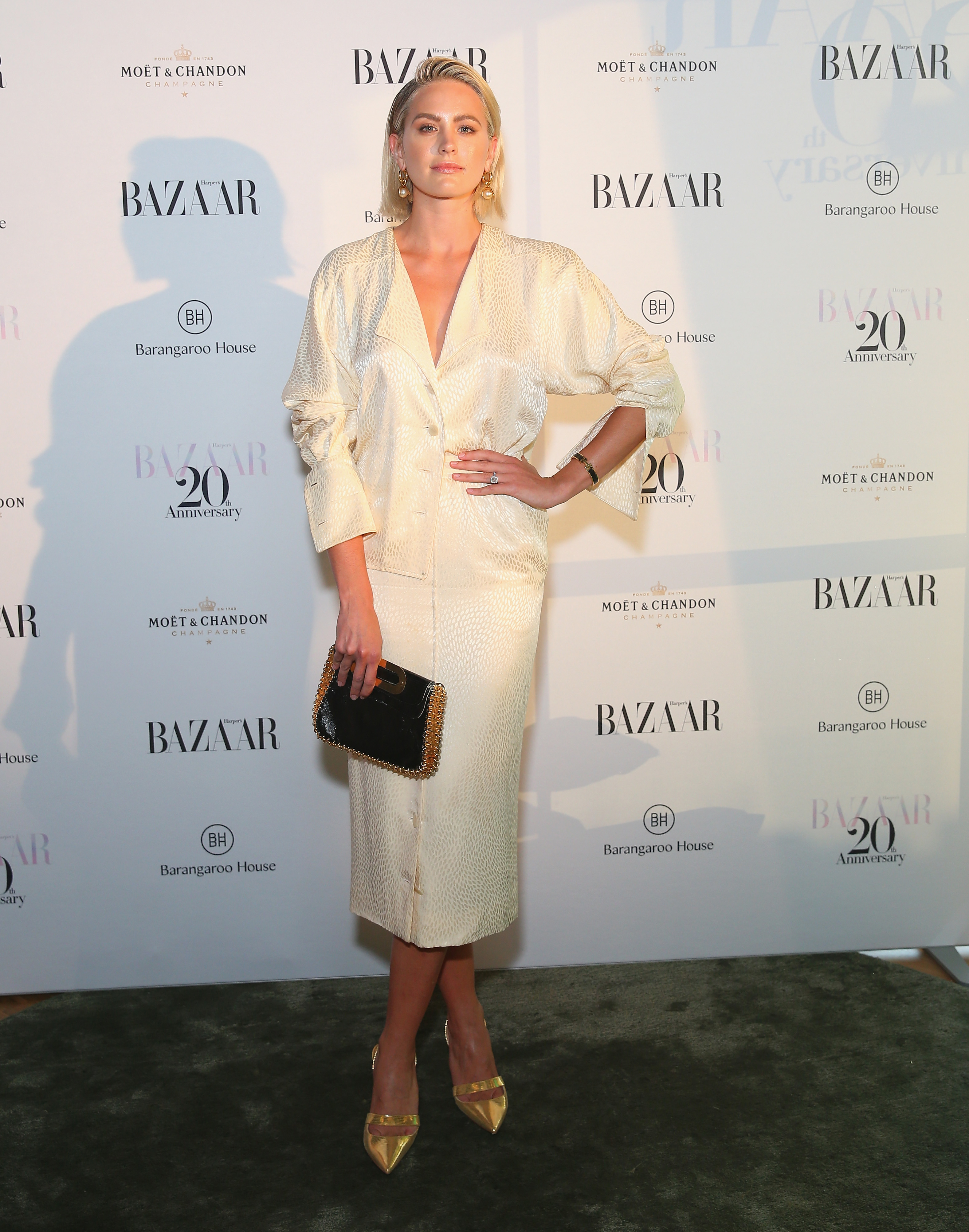 "<p>Sydney's style set turned out last night to celebrate <em>Harper's Bazaar</em>'s 20th anniversary celebrations</p> <p>Jesinta Campbell, Lindy Klim, and Jasmine Yarbrough were among the guests at a VIP party at Matt Moran's new Smoke rooftop bar at Barangaroo House.</p> <p>Editor Kellie Hush told the Sydney Morning Herald that the 318-page bumper edition, featuring actress Margot Robbie on the cover, is a nod to the current fashion climate. ""My whole goal was to put out a magazine that captured an essence of where fashion is today and where it is going, so when you look at it in 20 years, people will think, 'oh wow, that was happening in 2018.'""</p> <p>Click through for our favourite looks from the red carpet...</p>"