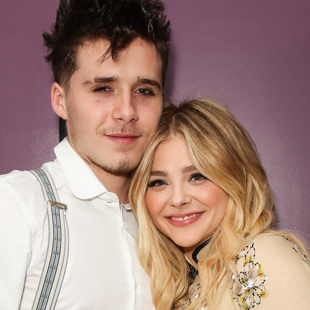While Chloë Grace Moretz looked every inch the movie star at her 21st birthday overnight, it was the matching dark eyeliner that her and boyfriend, Brooklyn Beckham, were sporting that had everyone staring. <br /> <br /> Proof that it's possible to make a joint style statement without raiding each other's wardrobe, the son of David and Victoria Beckham matched <em>The Equalizer</em> star's graphic cat eye with a smudged black liner look of his own.<br /> <br /> In the sartorial stakes the pair mixed it up with Mortez clad in oriental-inspired separates from Prada, while 18-year-old Beckham opted for pinstriped pants, a white button-down and suspenders.<br /> <br /> The actress and budding photographer aren't the only high-profile pair to favour a twinning look. Whether they're Hollywood superstars, sport stars or fashion industry powerhouses, many style-savvy A-list couples haven't been afraid to make a splash in his-and-her outfits.<br /> <br /> Click through to see the A-list couples who have suited up in style.