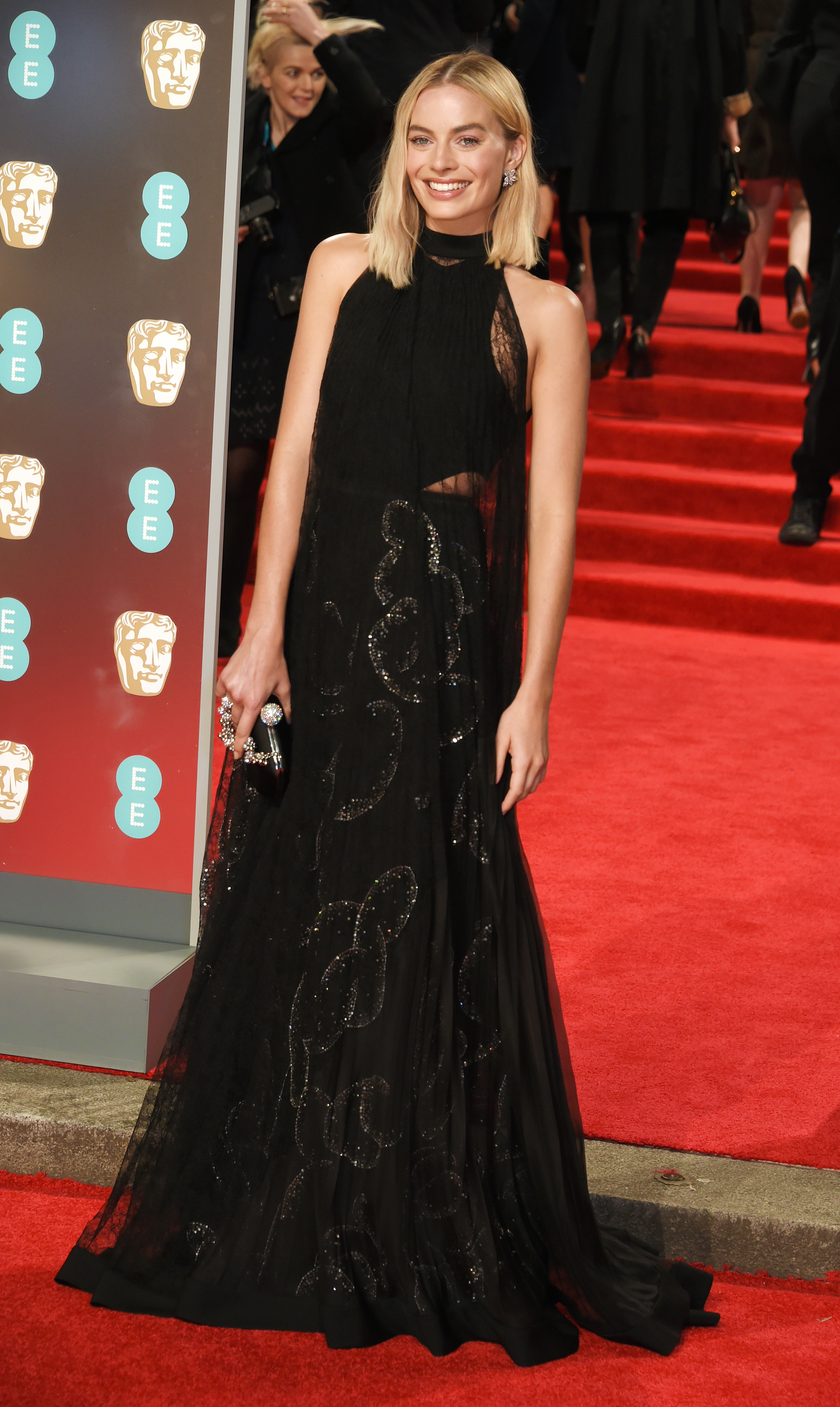 <p>Margot Robbie leads the way in the style stakes at the 71st BAFTA film awards in London.</p> <p>It was another black-out on the red carpet with the stars donning black to honour the Time's Up movement. Robbie nailed the dress code in Givenchy, while Jennifer Lawrence Jennifer stunned in Dior, fresh off the runway from their Spring 2018 show.</p> <p>Meanwhile, Dutchess of Cambridge, Kate Middleton, defied the all-black dress code wearing an olive green dress with a black ribbon by her go-to designer, Jenny Packham. </p> <p>Click through to check out all the highlights from the red carpet.</p> <p> </p>