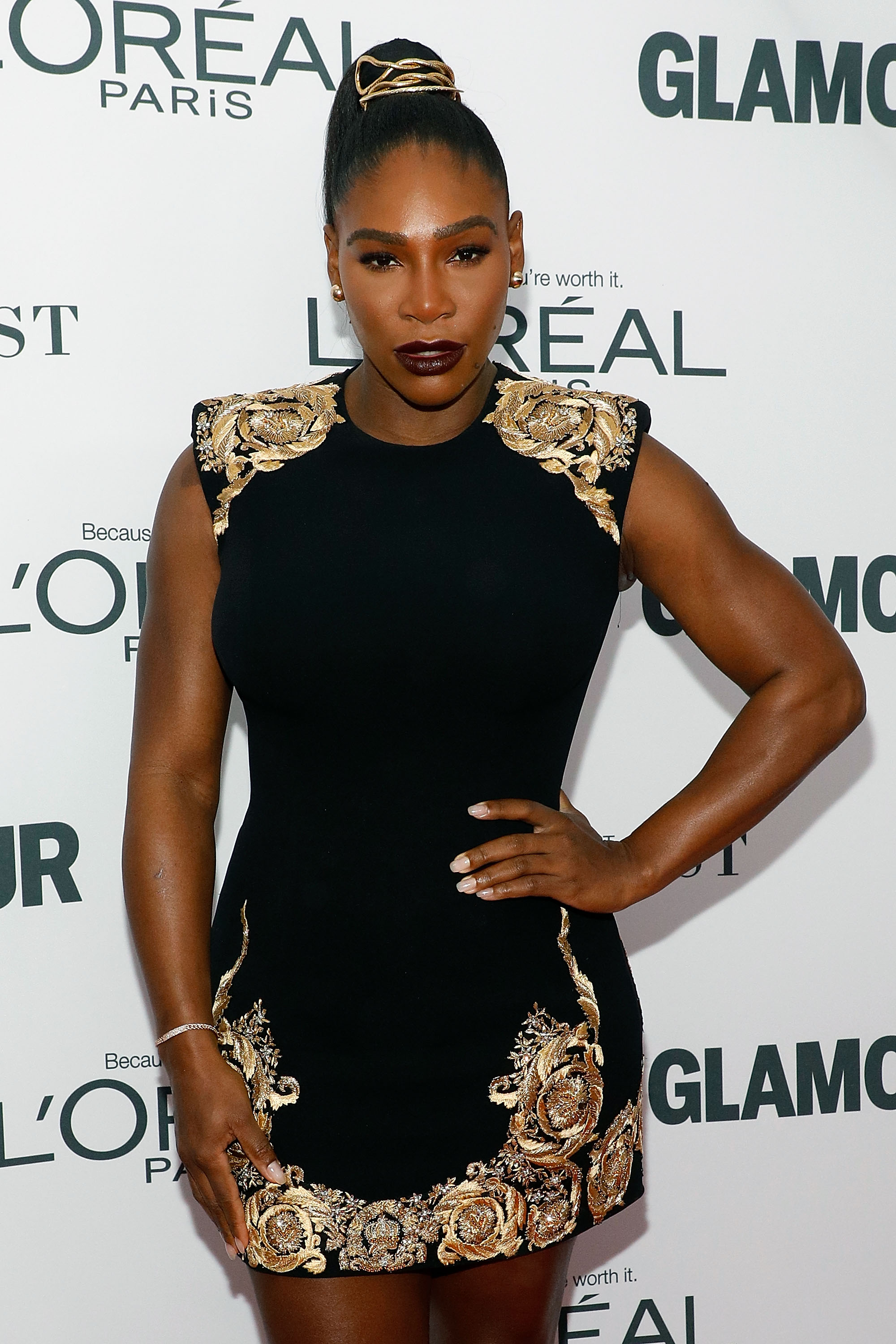 """As the winner of 38 major tennis titles and 23 grand slam singles titles, Serena Williams, is intimidating enough. Now, the tennis champ has given us another reason to question our life choices with news that she is reportedly set to release her own beauty line.<br /> <br /> The 33-year-old has taken her first steps towards global beauty domination by trademarking the name 'Aneres' (Serena spelt backwards) for a cosmetics line, according to <em><a href=""""http://www.tmz.com/2018/03/12/serena-williams-files-trademark-cosmetics-line/"""" target=""""_blank"""" draggable=""""false"""">TMZ.</a></em><br /> <br /> Although the range has yet to be officially announced, the mother-of-one is allegedly planning on dipping her manicured hands into everything from skincare to makeup and even fragrances and haircare.<br /> <br /> The all-star athlete will join an elite club of celebrities that have created their own beauty brands. <br /> <br /> Kylie Jenner, Drew Barrymore, Miranda Kerr and Rihanna are just some of the A-listers that have used their high-profile, image and love of beauty to cash in at the make up counter over the last few years.<br /> <br /> Click through to see the beauty brands created by some of the world's most stylish celebrities.<br /> <br />"""