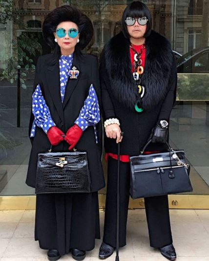 "<p>Instagram stars aren't born, they're made. Usually through a combination of enviable style, ostentatious wealth or access to a rarefied world few of us get to glimpse. Enter Peepy and Mother Lee, the mother and son duo behind the <a href=""https://www.instagram.com/peepy_and_mother_lee/"" target=""_blank"" draggable=""false"">Instagram account @peepy_and_mother_lee.</a></p> <p>With their penchant for matching designer handbags, Gucci glasses and grandiose, the pair's page is the Instagram fix you need when Gigi and Kendall's latest selfie just won't cut it. <br /> <br /> With over 116,000 followers and style status in spades, even Iris Apfel is going to have to lift her accessory game to compete with these two.</p> Click through to the best moment of  Peepy and Mother Lee."