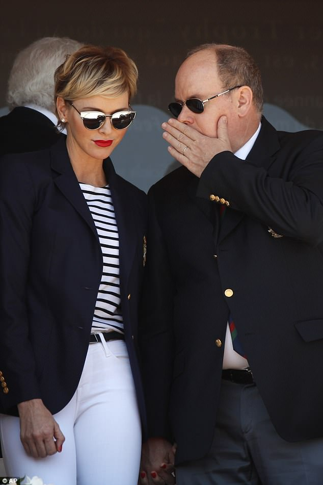 "<p>It's rare for <a href=""https://style.nine.com.au/2017/08/01/12/20/cool-royals-to-watch"" target=""_blank"">Princess Charlene of Monaco</a> to put a sartorial step wrong, and her latest outing  with husband Prince Albert was no different.</p> <p>The stylish royal showed off a new hairstyle as she attended the Monte Carlo Tennis Masters Tournament, rocking a side swept fringe in place of her usual swept back quiff. </p> <p>As always, the former Olympic swimmer and mum of two nailed her look, this time showing off her nautical side by pairing a striped top with white jeans, perfectly tailored navy blazer and mirrowed shades.</p> <p>It's no wonder the fashionista is often is compared to her elegant late mother-in-law Grace Kelly, usually dressed head-to-toe in one of her designer favourites; Ralph Lauren, Christian Dior, Akris or Armani, her timeless yet cutting-edge style cements her status as a royal fashion force.</p> <p>Take a look a look at Princess Charlene's biggest fashion moments.</p>"