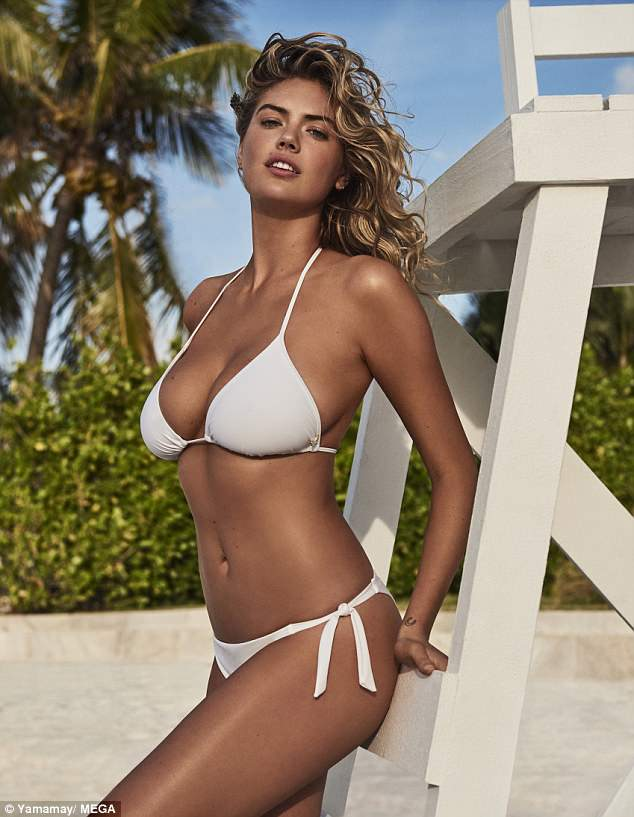 """<p>If there's one thing Kate Uptown knows how to do, it's rock a swimsuit.</p> <p>The model's killer curves take centre stage as she fronts Yamamay's new swimwear collection,on Aruba island island no less.</p> <p>TheSports Illustratedbombshell showcased the brand's new Sculpt Swimwear line, modelling everything from flattering one-pieces to uplifting bikinis.</p> <p>The 25 year-old <em>Other Woman </em>star is no stranger to the Italian-based brand. Upton recently stunned in Yamamay's latest lingerie collection. </p> <p>""""The sensuality and femininity of@kateuptonreflect our idea of#ConfidentBeauty,"""" the brand explained in a statement. """"Nobody but her could be the face for the new#Yamamay#SpringCollection"""".</p> <p>Click through to see Upton turning heads once again in her latest role.</p>"""