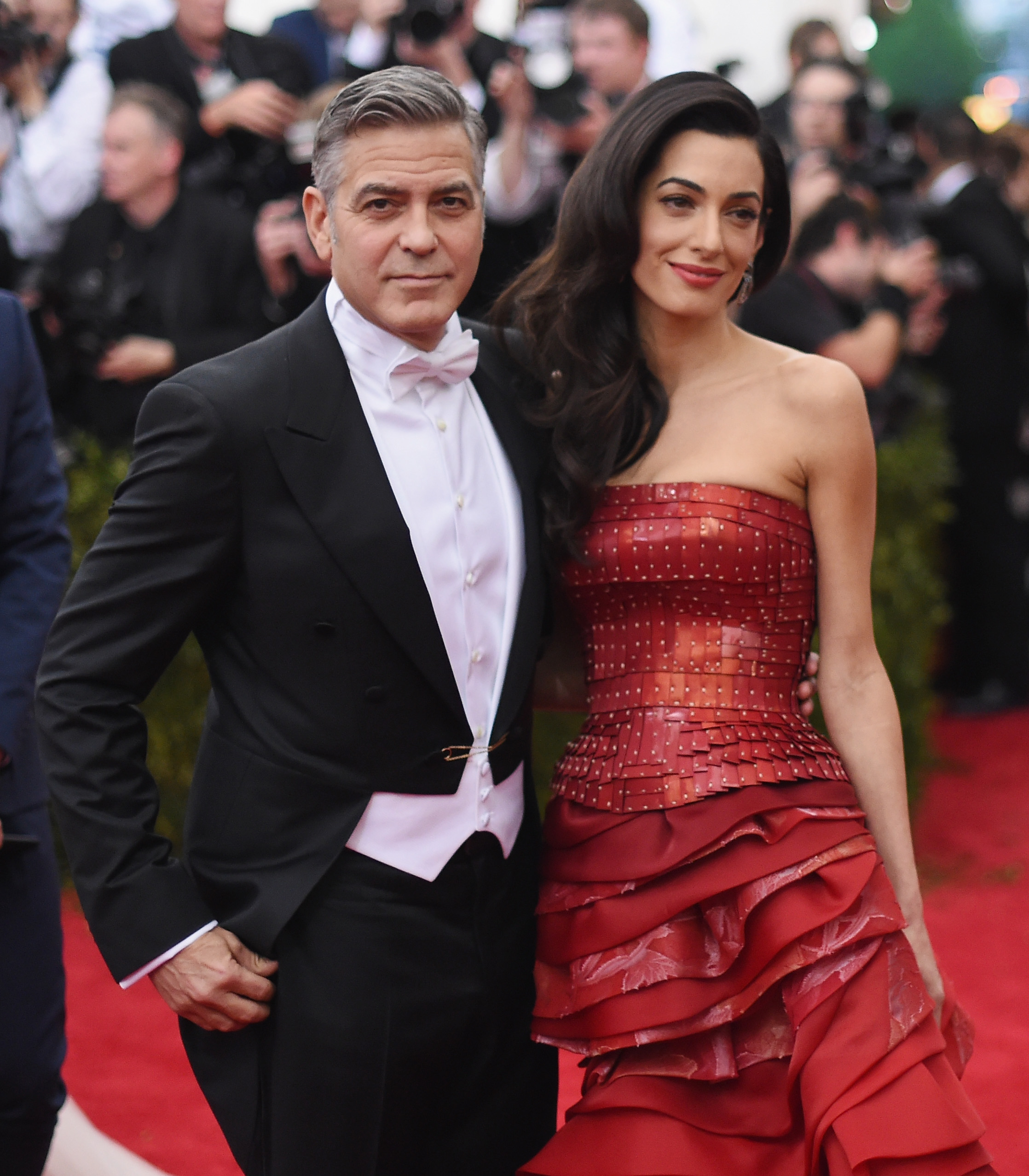 <p>A-list couples have a long history of attending the Met Gala, that first Monday in May where the cream of fashion gather to support New York's Costume Institute and get their pictures in the social pages.</p> <p>Whether it's the undeniable glamour of George and Amal Clooney, the sleekness ofGisele Bündchen and Tom Brady or  the brashness of Donald and Melania Trump, there's no mistaking a power couple on the red-carpet.</p> <p>With this year's Met Gala 'Heavenly Bodies: Fashion and the Catholic Imagination', only hours away from kick-off we thought we would look at the most memorable couple moments throughout the history of the Met Gala.</p> <p>Take it away George and Amal Clooney in John GallianoforMaison Margiela, at China: Through the Looking Glass  Costume Institute Benefit Gala in 2015</p>