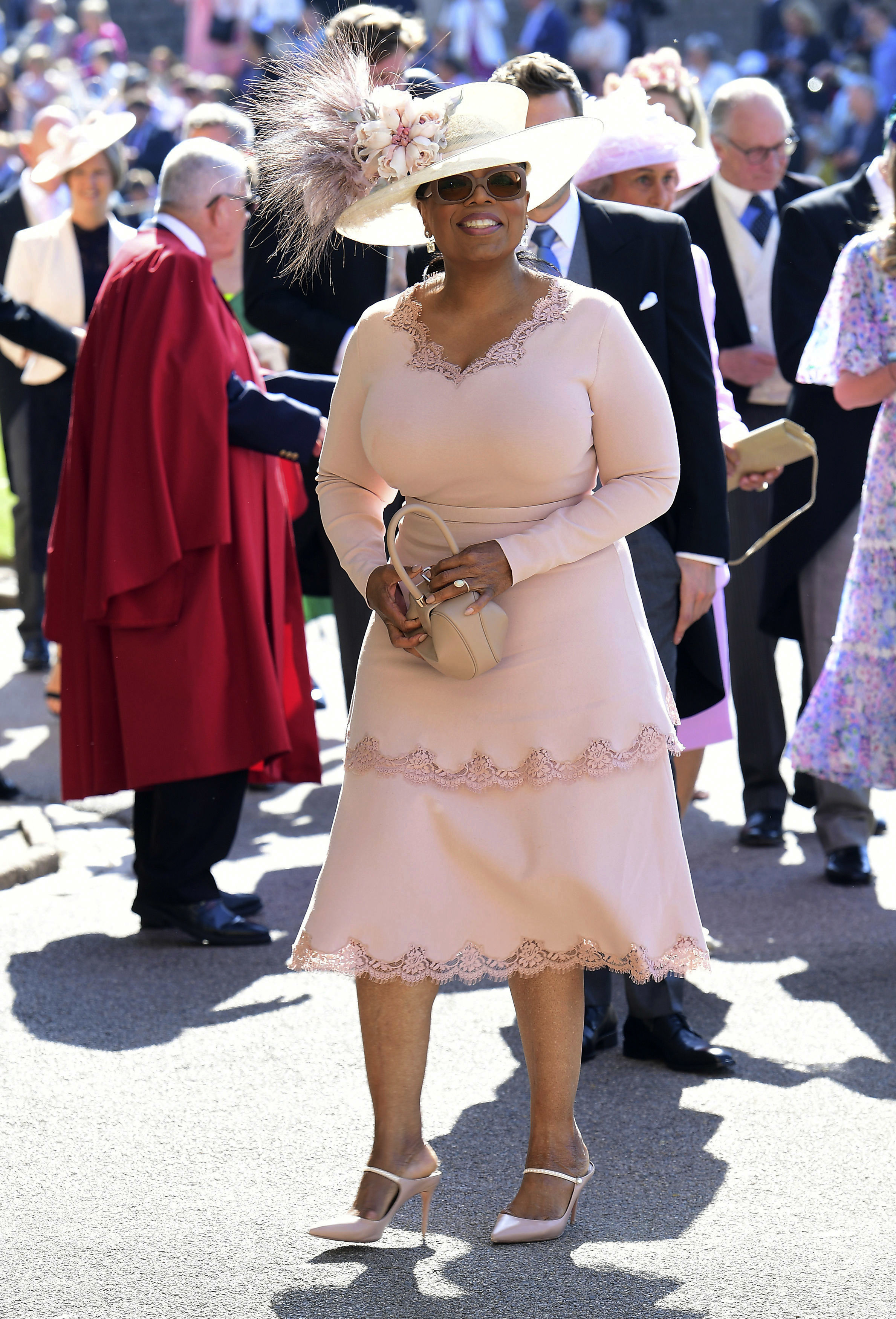 Photos of guests at Prince Harry Meghan Markle royal wedding 2018