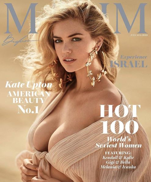 """<p>In what should come as no great surprise that actress and highly-sought after model <a href=""""https://style.nine.com.au/2018/04/24/10/12/kate-upton-swimwear"""" target=""""_blank"""">Kate Upton</a> has been given the top honour on Maxim's Hottest 100 list.</p> <p>The <a href=""""https://style.nine.com.au/2017/12/12/13/29/kate-upton-wedding-makeup-products-beauty"""" target=""""_blank"""">newly married</a> Upton fronts the magazine's July edition where she says she's very proud to take the title.</p> <p>""""Thanks to Maxim for naming me the No. 1 hottest woman of 2018,"""" Upton gushed in a post in Instagram. """"You know, I work really hard on myself, on feeling good, working out, being strong. Being number one on the Hot 100 is a little reward for all of the hard work.""""</p> <p>The magazine said giving the coveted spot to the 25 year-old was a no-brainer.</p> <p>""""Our annual Hot 100 issue is about so much more than physical beauty, although this year's nominees have that in spades,""""MaximCOO Robert Price said in a statement. """"Now more than ever, we need to celebrate smart, powerful women who are breaking boundaries, shattering glass ceilings and showing us what is possible—none more so than our incredibly talented cover star, Kate Upton."""" </p> <p>Shot by renowned French fashion photographer Gilles Bensimonon the sands of Isreal, Upton says the shoot was a dream come true.</p> <p>""""I was so excited. It was one of my bucket-list trips,"""" reveals the <em>Other Woman</em> star. """"Israel is such a new country, but obviously with such old, rooted history. I went to Jerusalem and to the Dead Sea and floated around; my mom came with me.""""</p> <p>The actress joins other A-listers such as Taylor Swift, Miley Cyrus, Olivia Wilde and fellow <em>Sports Illustrated </em>models, Bar Refaeli and Marissa Miller who are all former Maxim Hot 100 No 1's.</p> <p>Click through to take a look at Upton's celebratory shoot…</p>"""