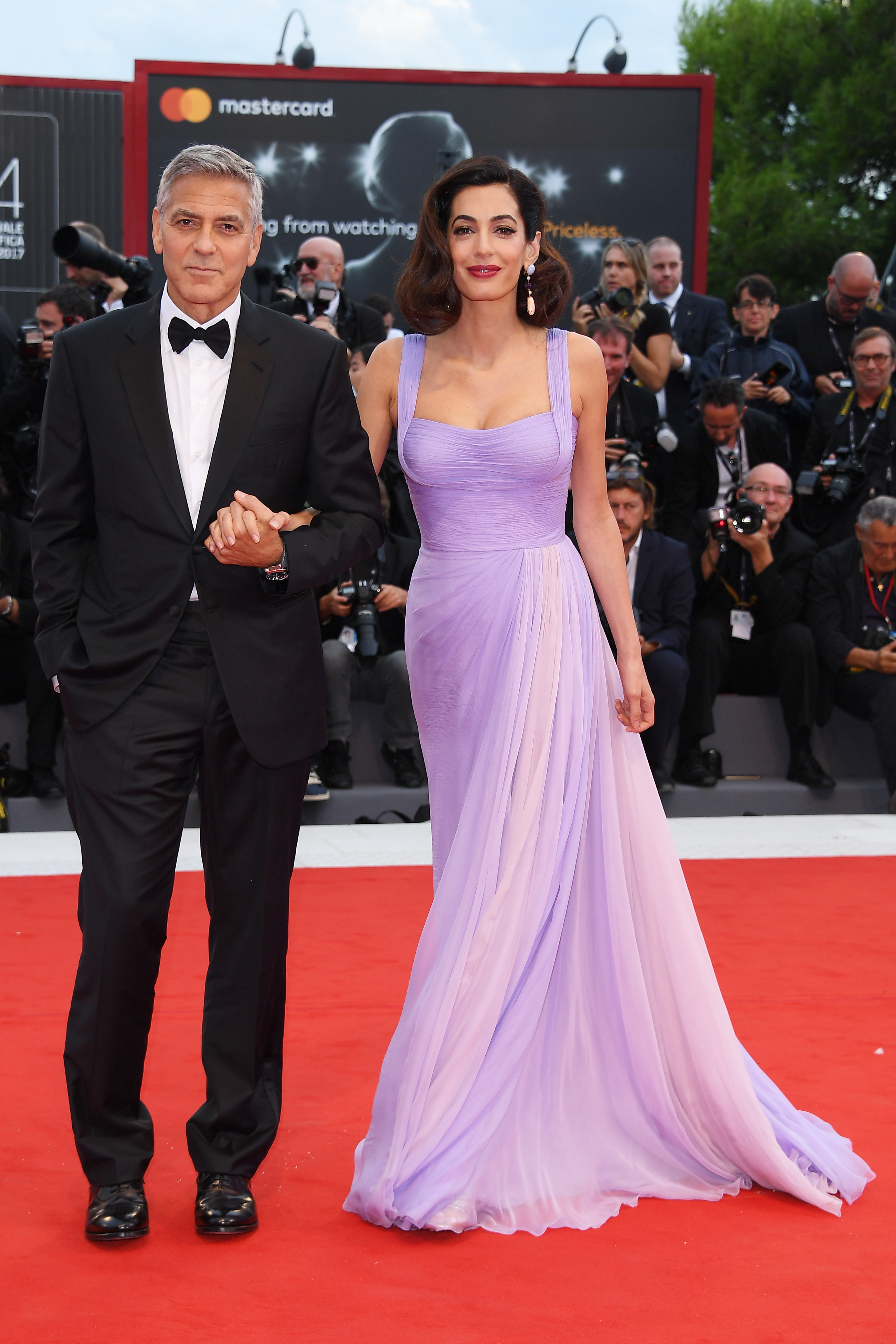 "<p>Move over Victoria and David Beckham, fashion has a new power couple in town and they go by the names of <a href=""https://style.nine.com.au/2018/06/08/14/59/afi-gala-george-clooney"" target=""_blank"" draggable=""false"">George and Amal Clooney</a>.</p> <p>The stylish pair raise the sartorial stakes every time they step on to the red carpet, turning heads and giving us all new relationship goals.</p> <p>All eyes have been on the <a href=""https://style.nine.com.au/2018/05/09/14/05/style-evolution-amal-clooney"" target=""_blank"" draggable=""false"">human rights lawyer </a>since she was thrust into the spotlight when after a short courtship, she became the fiancé of George in 2014. The pair wasted no time and married later that same year, giving us many bow-down moments when they step out together.</p> <p>Always polished, chic and elegant, <a href=""https://style.nine.com.au/2018/05/09/14/05/style-evolution-amal-clooney"" target=""_blank"" draggable=""false"">Amal's refined yet adventurous style</a> has earned her a place on many best dressed lists. </p> <p>Like the rest of us, George isn't surprised.</p> <p>""It's amazing, because she's always — since the day I met her — she's always had this insanely . . . it's eccentric, but it's fun, sense of fashion,"" George told E! News. ""How she does it while she's got 11 cases she's working on, and she was teaching at Columbia, and she's still, like, 'I want to wear that dress.' It's crazy. It has been sort of fascinating to watch, because she has such great taste.""</p> <p>George, too, brings plenty to the table in the style stakes. The actor has old Hollywood glamour in spades, and is constantly setting the bar for black-tie on the red carpet.</p> <p>Click through to check out ten times the Clooney's have wowed on the red carpet.</p>"