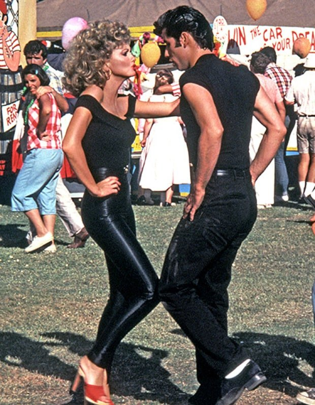 """<p>It's been 40 years since <a href=""""https://style.nine.com.au/2018/05/15/16/33/olivia-newton-john-grease-costumes-leather-jacket"""" target=""""_blank"""" draggable=""""false"""">Olivia Newton-John</a> and John Travolta graced our big screens in the iconic<em><a href=""""https://style.nine.com.au/2018/05/15/16/33/olivia-newton-john-grease-costumes-leather-jacket"""" target=""""_blank"""" draggable=""""false"""">Grease</a></em><a href=""""https://style.nine.com.au/2018/05/15/16/33/olivia-newton-john-grease-costumes-leather-jacket"""" target=""""_blank"""" draggable=""""false"""">,</a> but even after all this time Sandy's wardrobe is still the one everyone wants.</p> <p>No-one can forget good-girlSandy Olsson breaking out of her shell in the final scene of the movie, donned in head-to-toe spandex and proclaiming her love forfor bad boy Danny Zuko, all while singing the hit song<em>You're the One That I Want</em>. (who would ever <em>want</em> to forget that?)</p> <p>Even though A-listers like supermodel Gigi Hadid and singer-turned-designer Jessica Simpson weren't even alive when the film was first released, the movie, and more specifically Newton John's skin-tight get up, has stood the test of time. </p> <p>Hadid and Simpson are just two of many celebrities who have channeled the classic look.</p> Click through too see how Hollywood's style set have channeled Sandy's iconic outfit...some of these may even make the girls at Rydell High School blush."""