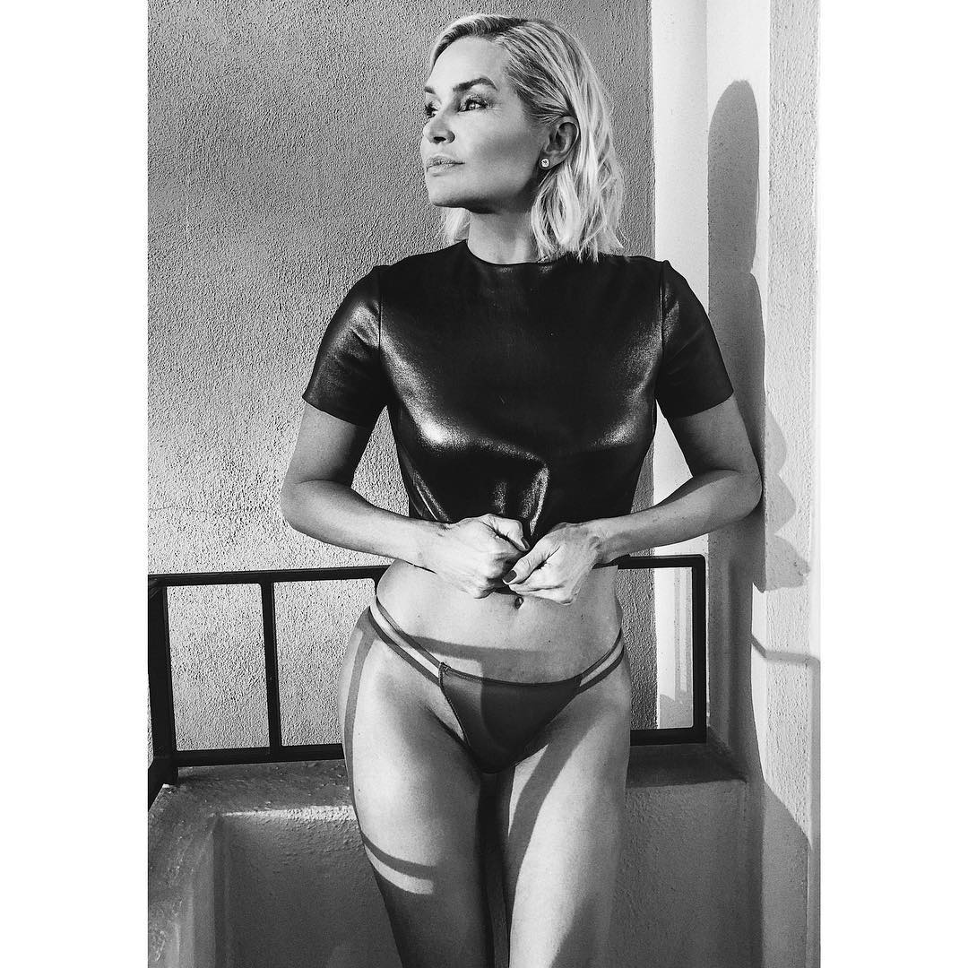 """Owning a physique so flawless that her own daughters, Gigi and Bella, may want to think about adding a few more push ups to their gym routine, former model and <em>Real Housewife</em>, Yolanda Hadid, 54, has demonstrated that<a href=""""https://style.nine.com.au/2018/06/22/10/53/brooke-shields-swimwear-bikini-body"""" target=""""_blank"""" title="""" age really is just a number.""""> age really is just a number.</a><br /> <br /> Yesterday, the former reality star took to<a href=""""https://www.instagram.com/yolanda.hadid/?hl=en"""" target=""""_blank"""" title="""" Instagram""""> Instagram</a> to share a snap of herself in bikini bottoms and a tight top with her 2.9 million followers, revealing that she's unapologetic about being in the best shape of her life.<br /> <br /> """"No longer engaged with the judgement of others but rather a profound sense of confidence, freedom and acceptance of the best version of myself with grace and gratitude...."""" posted Hadid.<br /> <br /> Hadid, who was a top swimwear and runway model in the '80s and '90s, has been battling chronic Lyme disease since 2012, an infectious illness which is spread by ticks.<br /> <br /> """"Most diseases you might want to battle out in the privacy of your own home,"""" Hadid said at the Global Lyme Disease Awareness Gala in New York in 2016.<br /> <br /> """"But Lyme disease is so undervalued and so misunderstood by the world that it is an obligation to each and every one of us to share our story until we get the acknowledgment and the respect that we deserve from the medical establishments.'""""<br /> <br /> Despite her struggles, the mother-of-three has had something of <a href=""""https://style.nine.com.au/2017/03/23/06/40/yolanda-hadid-deal-gigi-bella-television-reality"""" target=""""_blank"""" title=""""a return to the spotlight over the past year."""">a return to the spotlight over the past year.</a><br /> <br /> In November 2017, Hadid starred in the short-lived Lifetime series <em>Making a Model</em>, a reality show where she put her modelling and mothering expe"""