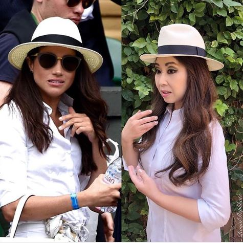 "Instagram stars aren't born, they're made. Usually through a combination of enviable style, ostentatious wealth or in Janelle Nash's case, the sartorial stylings of the <a href=""https://style.nine.com.au/2018/06/27/11/11/meghan-markle-kate-middleton-hair-beauty"" target=""_blank"" title=""royal duchesses."">royal duchesses.</a><br /> <br /> Nash, a devoted royal enthusiast, from Scottsdale, Arizona, spends up to 10 hours a day recreating the looks of Meghan Markle and Kate Middleton.<br /> <br /> Through her Instagram accounts <a href=""https://www.instagram.com/royalreplikate/?hl=en"" target=""_blank"" title=""@royalreplikate"">@royalreplikate</a> and <a href=""https://www.instagram.com/royalreplimeghan/"" target=""_blank"" title=""@royalreplimeghan "">@royalreplimeghan </a>-- both of which have over 10,000 followers -- she posts photos of herself modelling the duchesses' various outfits and copying their poses, hair and make up.<br /> <br /> ""My interest in Royal fashion started when I was a little girl with Princess Diana,"" she told the <em><a href=""http://www.dailymail.co.uk/femail/article-4538774/Duchess-Cambridge-fan-loves-dressing-like-Kate.html"" target=""_blank"" title=""Daily Mail in 2017."">Daily Mail in 2017.</a></em><br /> <br /> ""I had several books on Princess Di and found royal fashion to be so glamorous,""<br /> <br /> Nash has turned her hand at most royal looks from Catherine's Ascot attire to <a href=""https://style.nine.com.au/2018/07/03/14/52/meghan-markle-handbags-clutches-purses-accessories"" target=""_blank"" title=""Meghan's off-duty aesthetic."">Meghan's off-duty aesthetic.</a><br /> <br /> Click through to see the best royal style replications."