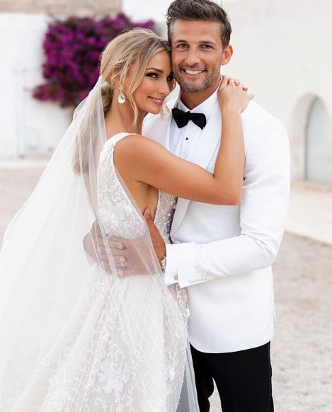 "<p>Five years after finding each other on <em>The Bachelor</em>, Tim Robards and <a href=""https://style.nine.com.au/2017/11/07/15/46/best-dressed-celebrities-at-melbourne-cup-outfit-of-the-day-stars-track-style"" target=""_blank"" title=""Anna Heinrich"" draggable=""false"">Anna Heinrich</a> became the first ever Australian <em>Bachelor</em> stars to <a href=""https://style.nine.com.au/2018/02/27/14/05/anna-heinrich-wedding"" target=""_blank"" title=""tie the knot"" draggable=""false"">tie the knot</a>.</p> <p>The pair exchanged vows last month at the Masseria Potenti Hotel in Puglia, southern Italy, in front of their closest family and friends.</p> <p>While we've seen glimpses of the lavish affair and their very glamourous Mediterranean honeymoon, we haven't been privy to the details of their big day, until now that is.</p> <p>Heinrich has shared the intimate images from the wedding with her 339k Instagram followers and it's every bit as dreamy as you imagined.</p> <p>The <a href=""https://style.nine.com.au/2018/02/27/14/05/anna-heinrich-wedding"" target=""_blank"" title=""stunning bride"" draggable=""false"">stunning bride</a> walked down the aisle with her proud father, Les Heinrich, wearing a custom-made Steven Khalil gown fit for a princess, and accessorised with Sophie Webster heels and earrings from Oscar De La Renta.  </p> <p>The lawyer's bridesmaids, friends Elissa Griffin and Caroline Matson as well as her sisters Andrea and Charlotte Heinrich, wore white Rebecca Valance dresses.</p> <p>Click through to see all the details from the wedding of your reality TV favourites.</p>"