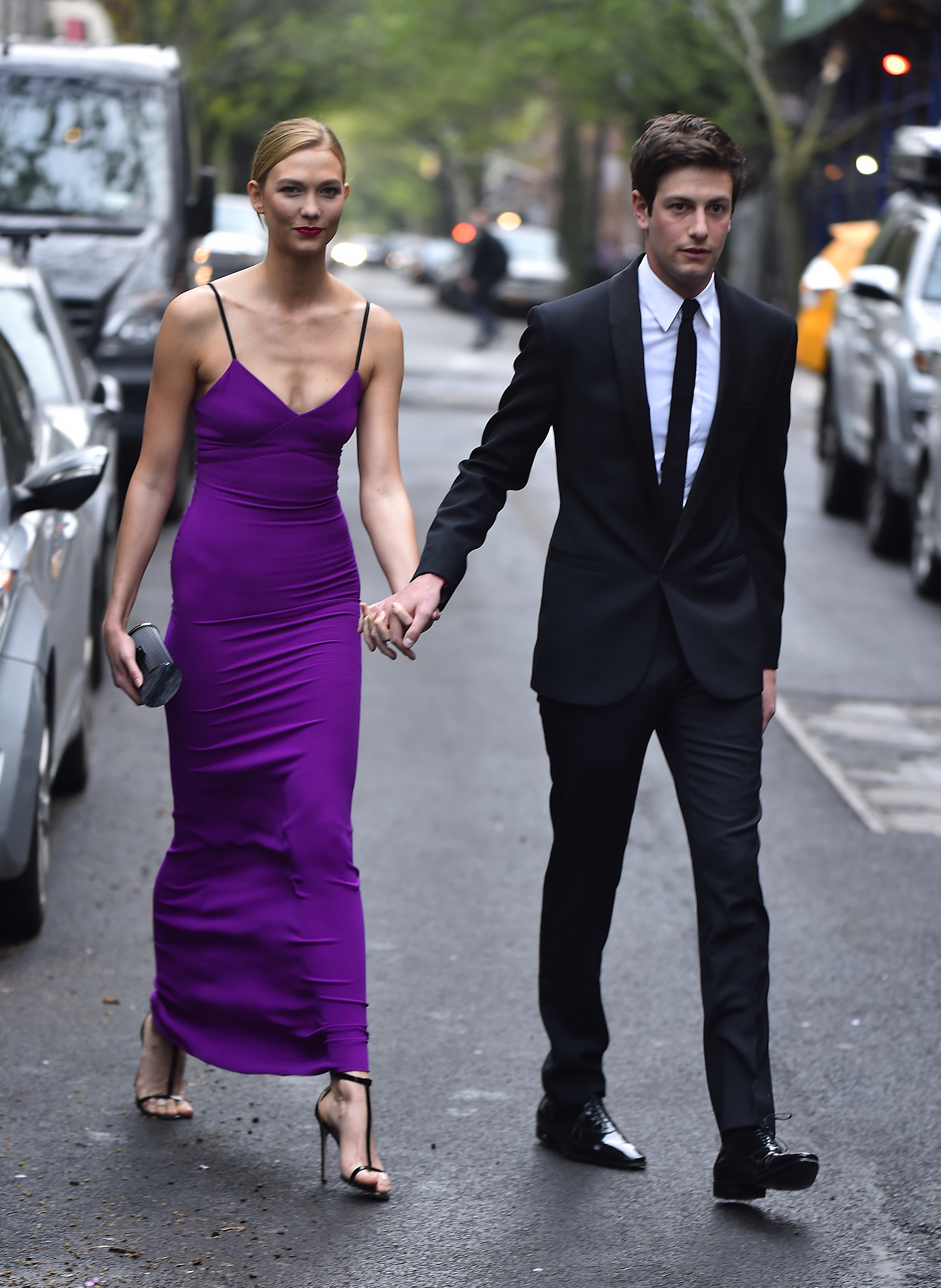 """<p>Karlie Kloss is set to become the <a href=""""https://style.nine.com.au/2017/12/12/13/29/kate-upton-wedding-makeup-products-beauty"""" target=""""_blank"""" title=""""latest supermodel to say 'I do'."""" draggable=""""false"""">latest supermodel to say 'I do'.</a><br /> <br /> The <em>Vogue</em> regular, <a href=""""https://style.nine.com.au/2018/06/18/15/32/victorias-secret"""" target=""""_blank"""" title=""""who has worked with the likes of Victoria's Secret"""" draggable=""""false"""">who has worked with the likes of Victoria's Secret</a>, David Jones, L'Oreal, Swarovski and Lanvin, has announced her engagement to long-time boyfriend Joshua Kushner.<br /> <br /> The 24-year-old broke the news <a href=""""https://www.instagram.com/karliekloss/?hl=encm"""" target=""""_blank"""" title=""""via Instagram"""" draggable=""""false"""">via Instagram</a>, sharing a candid selfie of herself and her new fiancée with her 7.5 million followers.</p> <p>""""I love you more than I have words to express. Josh, you're my best friend and my soulmate. I can't wait for forever together. Yes a million times over,"""" Kloss captioned the post.</p> <p>Kloss later followed up the post by revealing her ring in a story.</p> <p>The pair have been together since 2012 and the engagement will see the supermodel add the US first family to her family tree.<br /> <br /> Her 33-year-old fiancée, who is the founder of investment firm Thrive Capital, is the younger brother of Jared Kushner, the husband of Ivanka Trump and a senior advisor to the president.<br /> <br /> While Kloss gets busy figuring out how to fit the fashion world and her new family members in one room, we have taken over the dress details by serving up some bridal gown inspiration courtesy of some of the world's biggest supermodels.<br /> <br /> From Kate Moss in John Galliano to Miranda Kerr in custom Dior and Cindy Crawford in a slip dress, click through to see the most stylish supermodel brides of all time.</p>"""