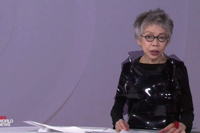 "<p>News headlines may come and go but the sartorial footprint left on the floor of the SBS newsroom by Lee Lin Chin will never be erased.</p> <p>The veteran journalist whose humour, intelligence and avant-garde sense of style was a staple on World News for over 30 years<a href=""https://thefix.nine.com.au/2018/07/30/06/09/sbs-world-news-presenter-lee-lin-chin-last-bulletin"" target=""_blank"" title="", delivered her final bulletin for the broadcaster last night."" draggable=""false"">, delivered her final bulletin for the broadcaster last night.</a></p> <p>Clad in an outfit that can only be described as part-Darth Vader and part-performance art, the Jakarta-born newsreader gave her final bow as fashion's favourite newsreader.</p> <p>""Over the years, all my colleagues have featured very prominently and positively in both my life at the network and in my personal life,"" said Chin.</p> <p>""I am saddest of all to leave you the audience. Thank you for watching and a very good night.""</p> <p>Besides her ability to mix humour and hard news, Chin is without a doubt one of Australia's most innovative style stars.  Her fondness for eschewing trends and 'IT' labels saw her spend her time behind the desk in outfits that featured everything from oversized collars, veils, suspenders, bowties to sunglasses with mirrors and embellishments. </p> <p>The former SBS newscaster was a spark of colour in what can be a sea of beige in the news world, a true original who always marched to the beat of her own drum.</p> <p>""She never wears two pieces the same,""said <a href=""http://https://www.sbs.com.au/news/exclusive-lee-lin-chin-s-message-to-fans-on-her-last-day"" target=""_blank"" title=""an SBS hair and makeup artist."" draggable=""false"">an SBS hair and makeup artist.</a></p> <p>""She's always styled herself, we just assist"".</p> <p>Click through to see all the best style moments from Lee Lin Chin.</p>"