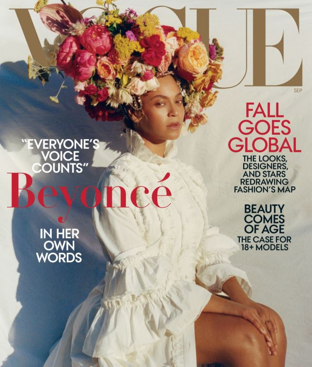 """<p>Beyoncé has been unveiled as the cover star of<a href=""""https://www.vogue.com/article/beyonce-september-issue-2018"""" target=""""_blank"""" draggable=""""false""""> <em>US Vogue'</em>s 2018 September Issue, </a>confirming the <a href=""""https://style.nine.com.au/2018/07/31/11/08/september-issue-anna-wintour-vogue-beyonce"""" target=""""_blank"""" title=""""worst kept secret in fashion news."""" draggable=""""false"""">worst kept secret in fashion news.</a><br /> <br /> Clad in a white Gucci frock and floral headpiece from Rebel Rebel, the Single Ladies singer is resplendent as she fronts for the most important fashion cover of the year.<br /> <br /> The issue will earn Queen Bay and 23-year-old photographer, Tyler Mitchell, a spot in the history books.<br /> <br /> It's the first-time an African American has snapped the cover of the coveted fashion publication in its 126-year history and it's the first time that entire editorial control has been handed over to the main subject.<br /> <a href=""""https://style.nine.com.au/2018/05/11/14/30/beyonce-style"""" target=""""_blank"""" draggable=""""false""""><br /> Yet, Beyoncé isn't here just to create a visual legacy.</a> Inside the pages, the renowned enigma let her vulnerability show through, revealing that she danced with death last year during the birth of her twins Rumi and Sir Carter in June.<br /> <br /> """"I was 218 pounds (100 kig) the day I gave birth to Rumi and Sir. I was swollen from toxemia and had been on bed rest for over a month. My health and my babies' health were in danger, so I had an emergency C-section, """" said Beyonce.</p> <p>""""Today I have a connection to any parent who has been through such an experience. After the C-section, my core felt different. It had been major surgery. Some of your organs are shifted temporarily, and in rare cases, removed temporarily during delivery. I am not sure everyone understands that. I needed time to heal, to recover,""""</p> <p>The mother-of-three also got real about body-image, stating that her body hasn't been the same p"""