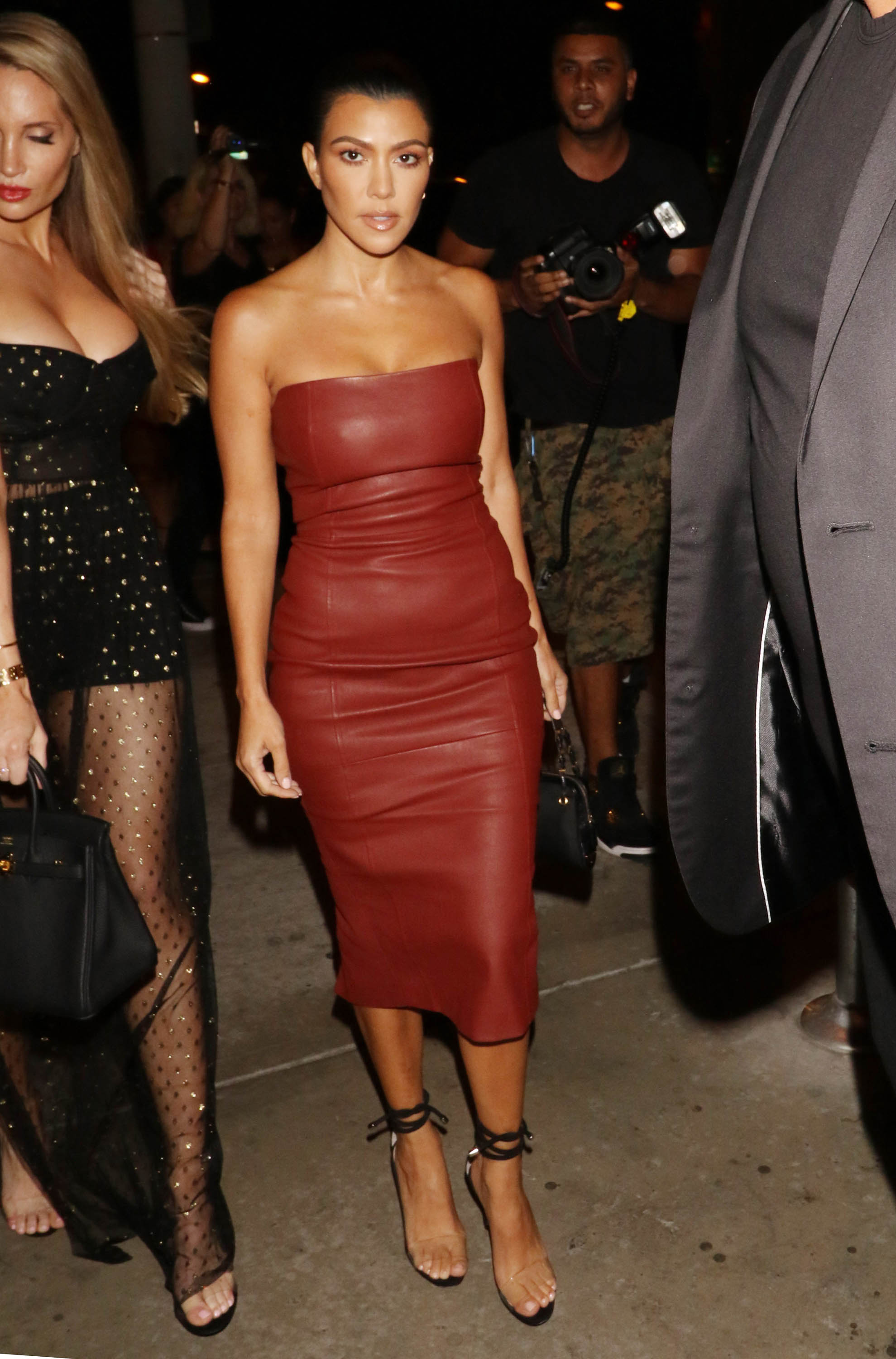 "<p>In the explosive first episode of the new series of <em>Keeping up with the Kardashians</em> we see sisters Kim and <a href=""http://https://style.nine.com.au/2018/07/09/14/01/kourntey-kardashian-sideboob"" target=""_blank"" title=""Kourtney Kardashian"" draggable=""false"">Kourtney Kardashian</a> in a very heated argument.</p> <p>Kim delivers the lowest blow when she tells her older sister that she's 'the least interesting to look at in the family'. Ouch.</p> <p>This comes the same week news broke of the reality TV's star split with toyboy boyfriend Younes Bendjima. It's been a rough week for Kourt.</p> <p>We happen to think the 39 year-old is one hot and <a href=""http://https://style.nine.com.au/2018/06/22/09/56/kourtney-kardashian-underwear"" target=""_blank"" title=""stylish mama"" draggable=""false"">stylish mama</a> who is in fact all kinds of interesting to look at.</p> <p>So much so, we have compiled our favourite red carpet images of the  star looking bangin', just to prove a point to Kimmy K (and to Bendjima). Let's hope she's reading.</p>"